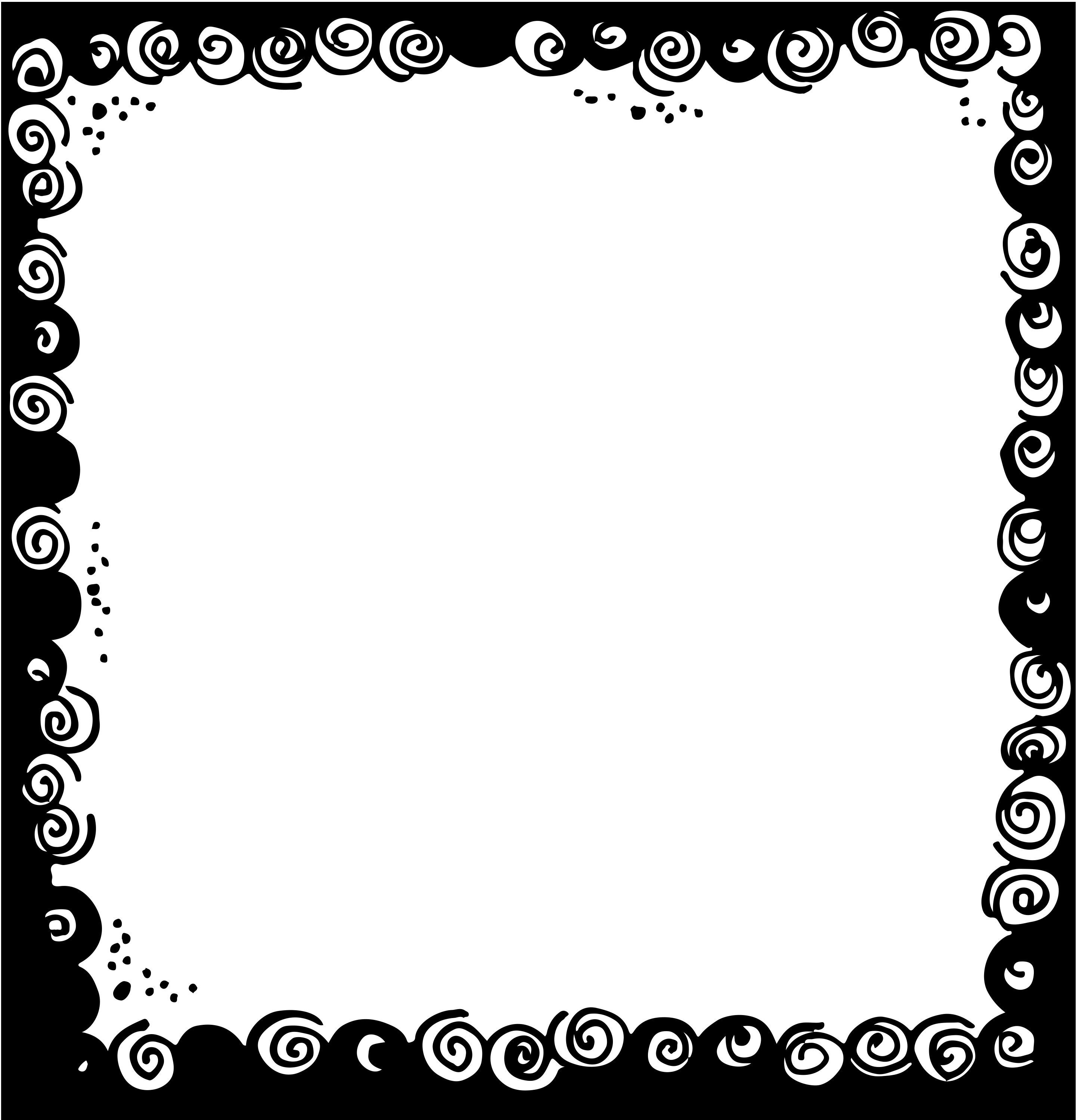 Border or Frame for newsletters announcements