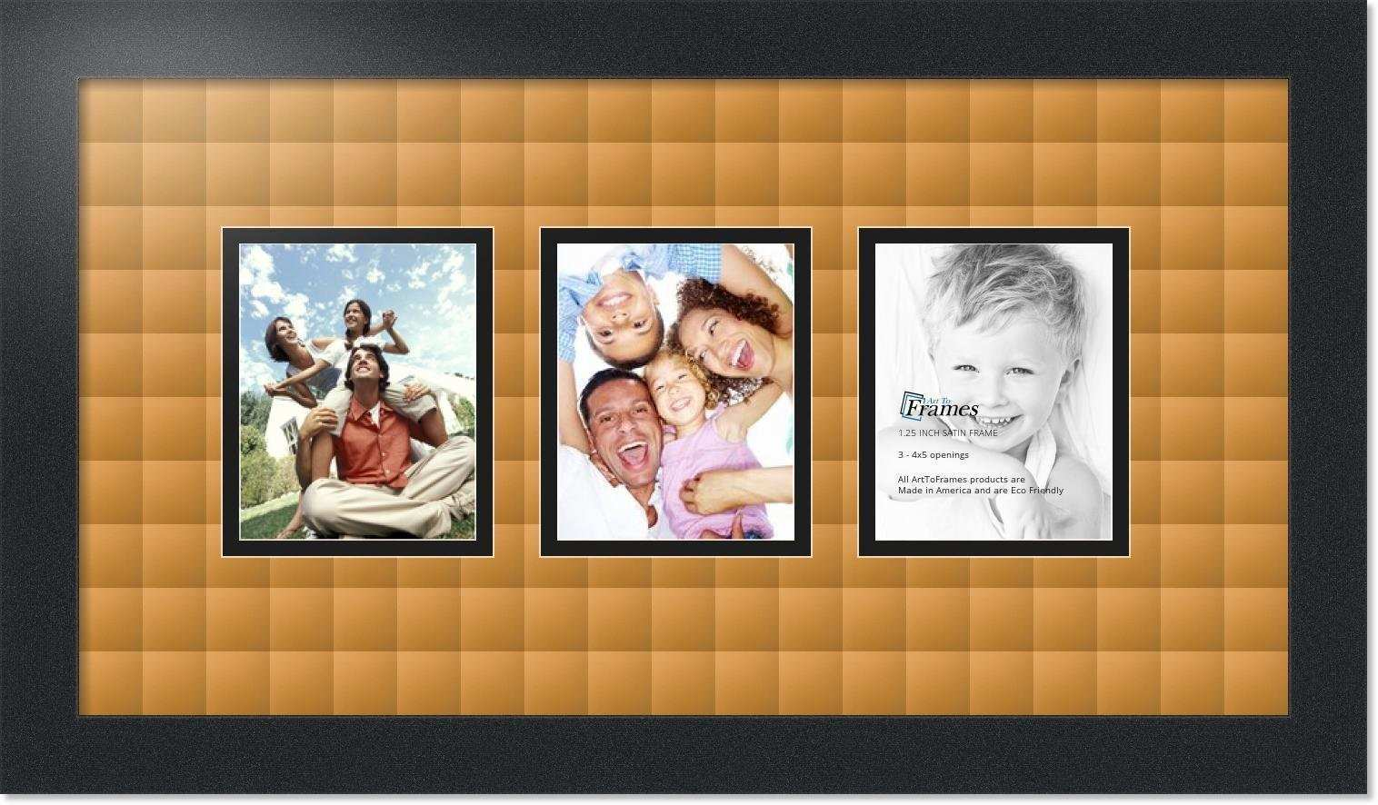 4x5 Picture Frames New Arttoframes Collage Mat Picture Frame 3 4x5