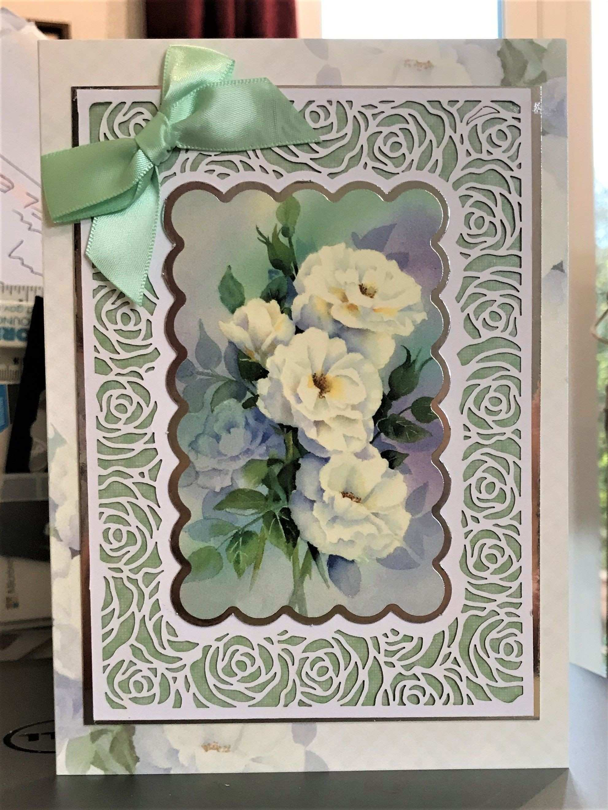 11 Greeting Card 5x7 Hunkydory Filigree Frames