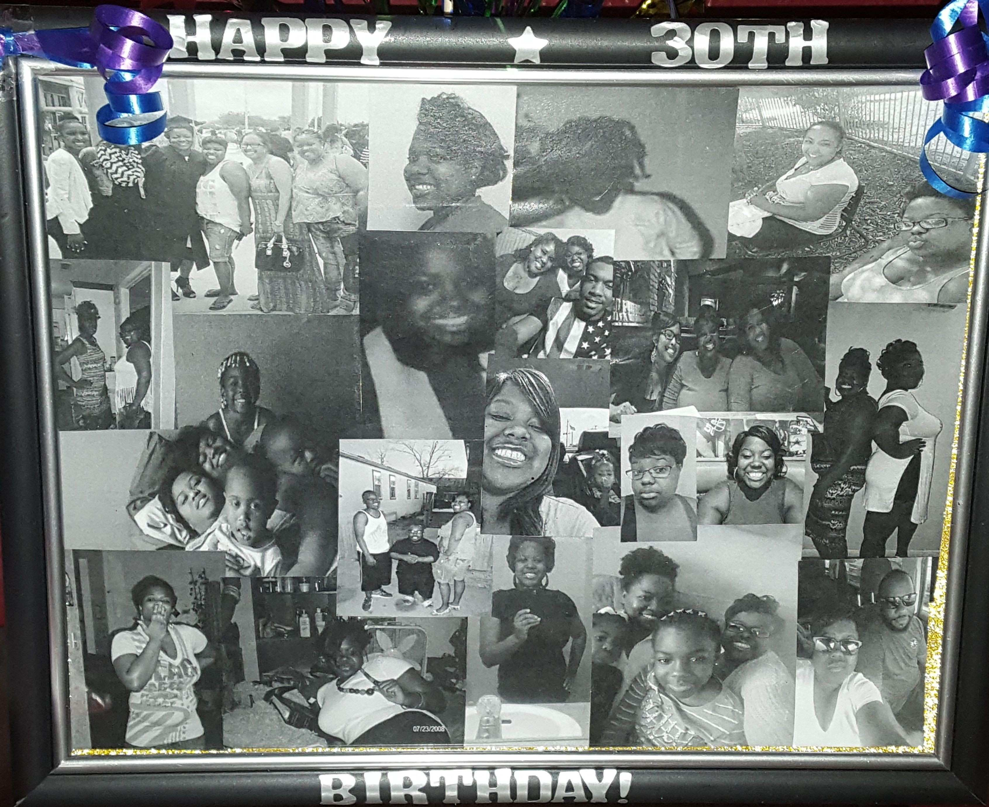 Custom Collage Available in sizes 8x10 to 20x30 Choose