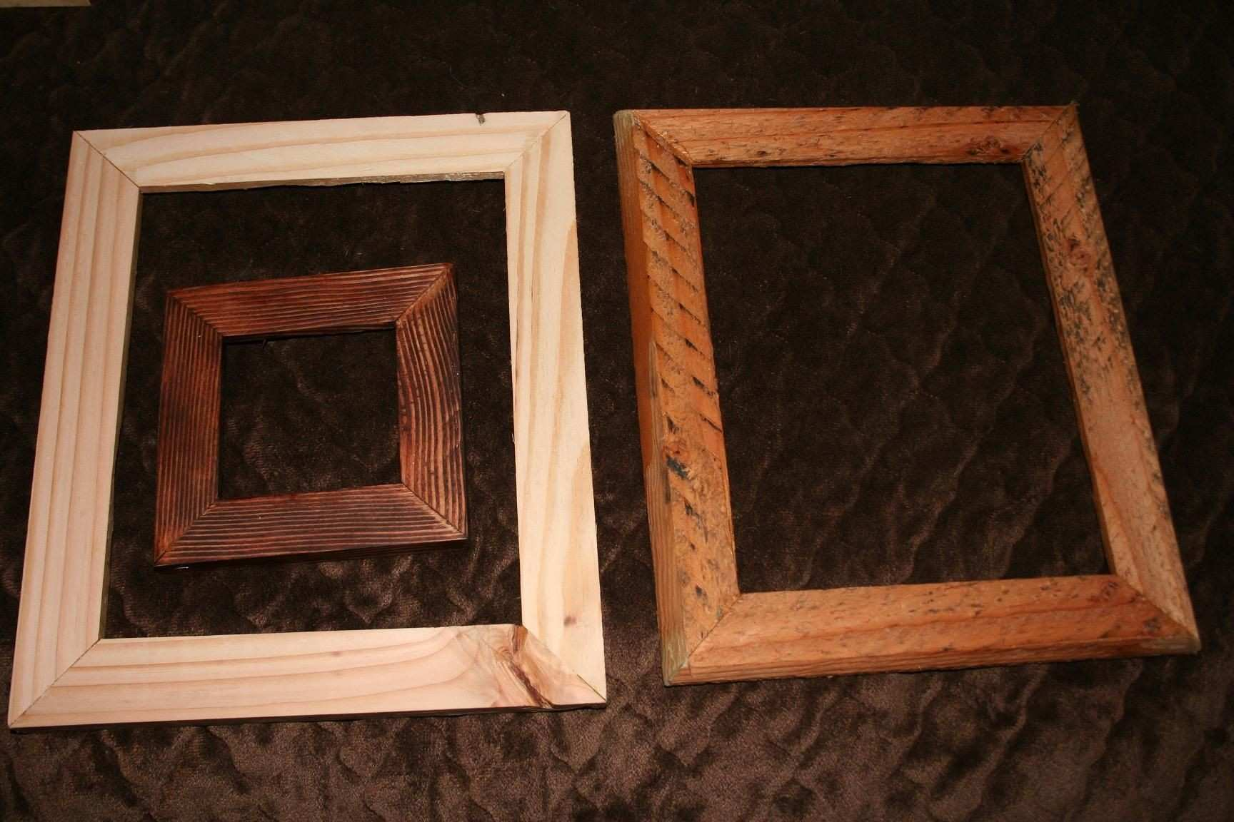 """Update the 4X4"""" has sold These are 2 8X10"""" picture frames The 1"""