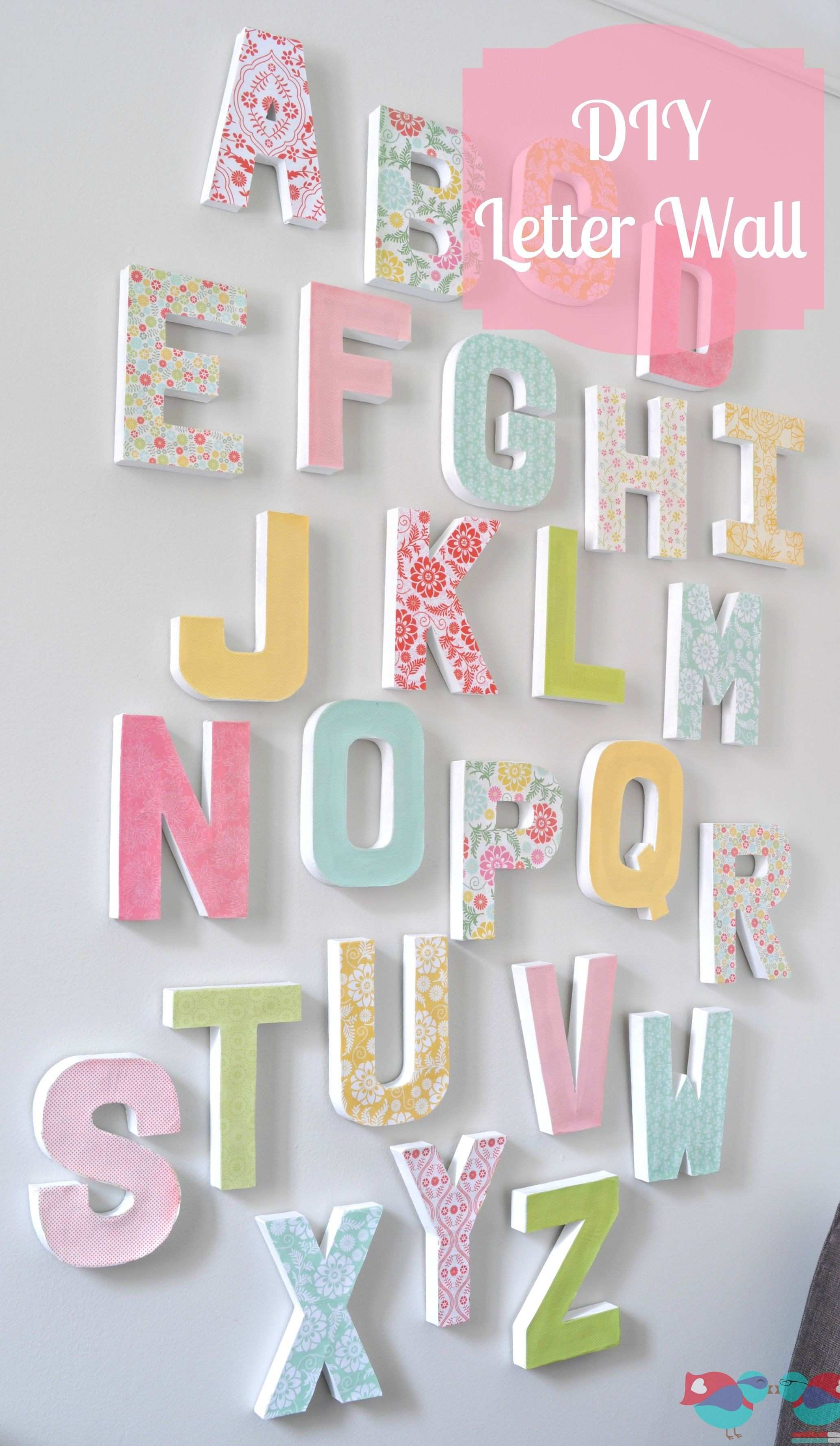 38 Awesome Abc Wall Art
