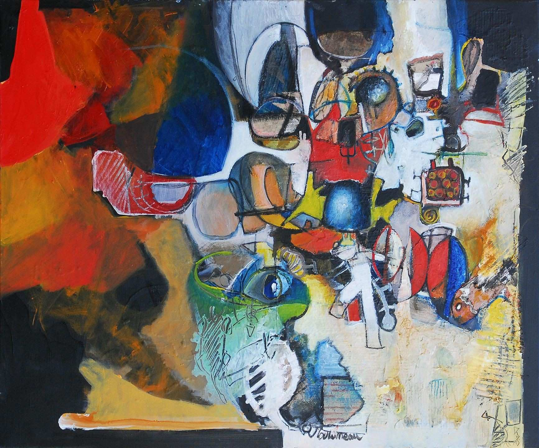 Pennsylvania contemporary painter creating vibrant living works of