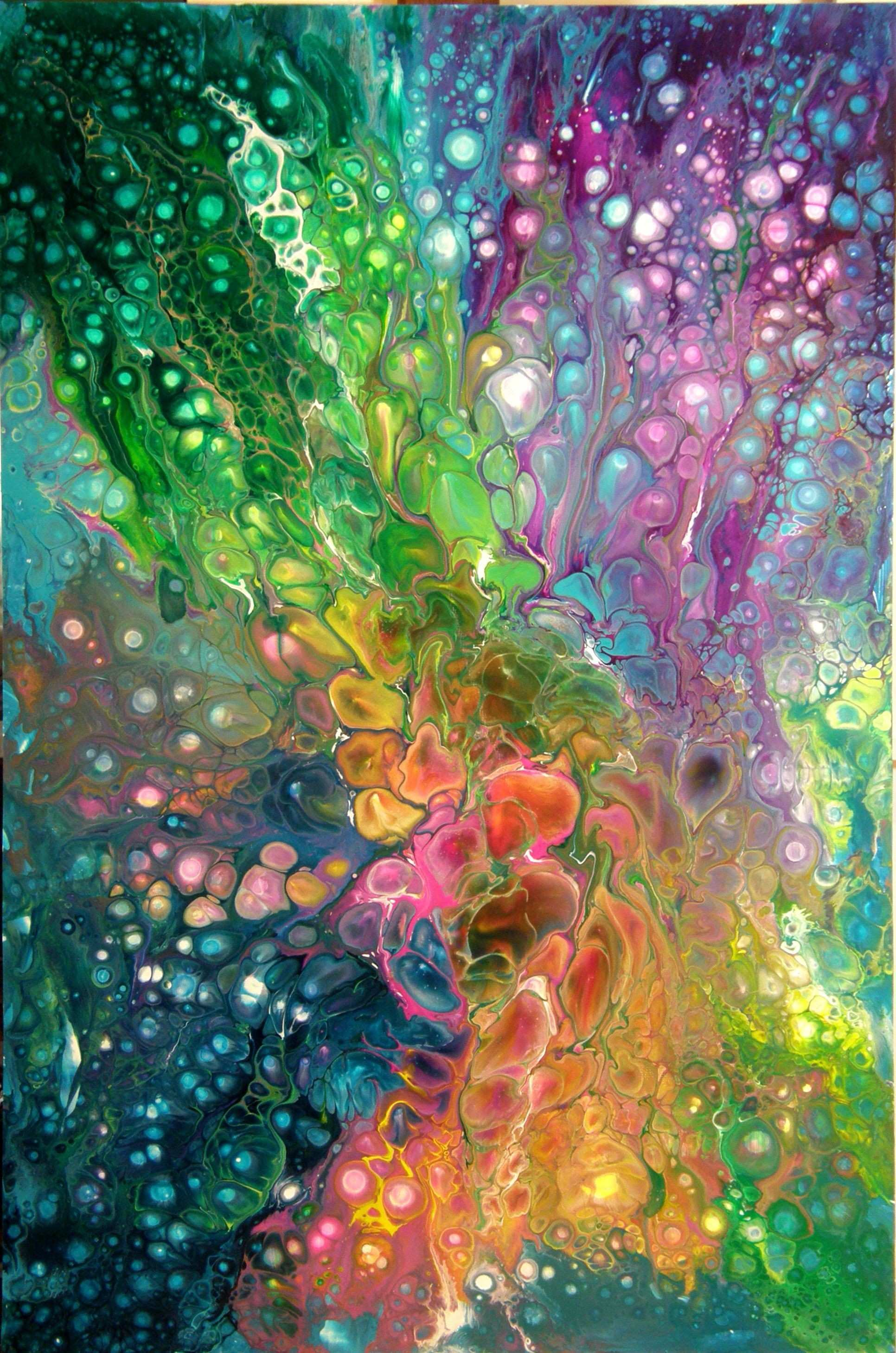 Acrylic Pouring BTW check out some cool art here jeremy