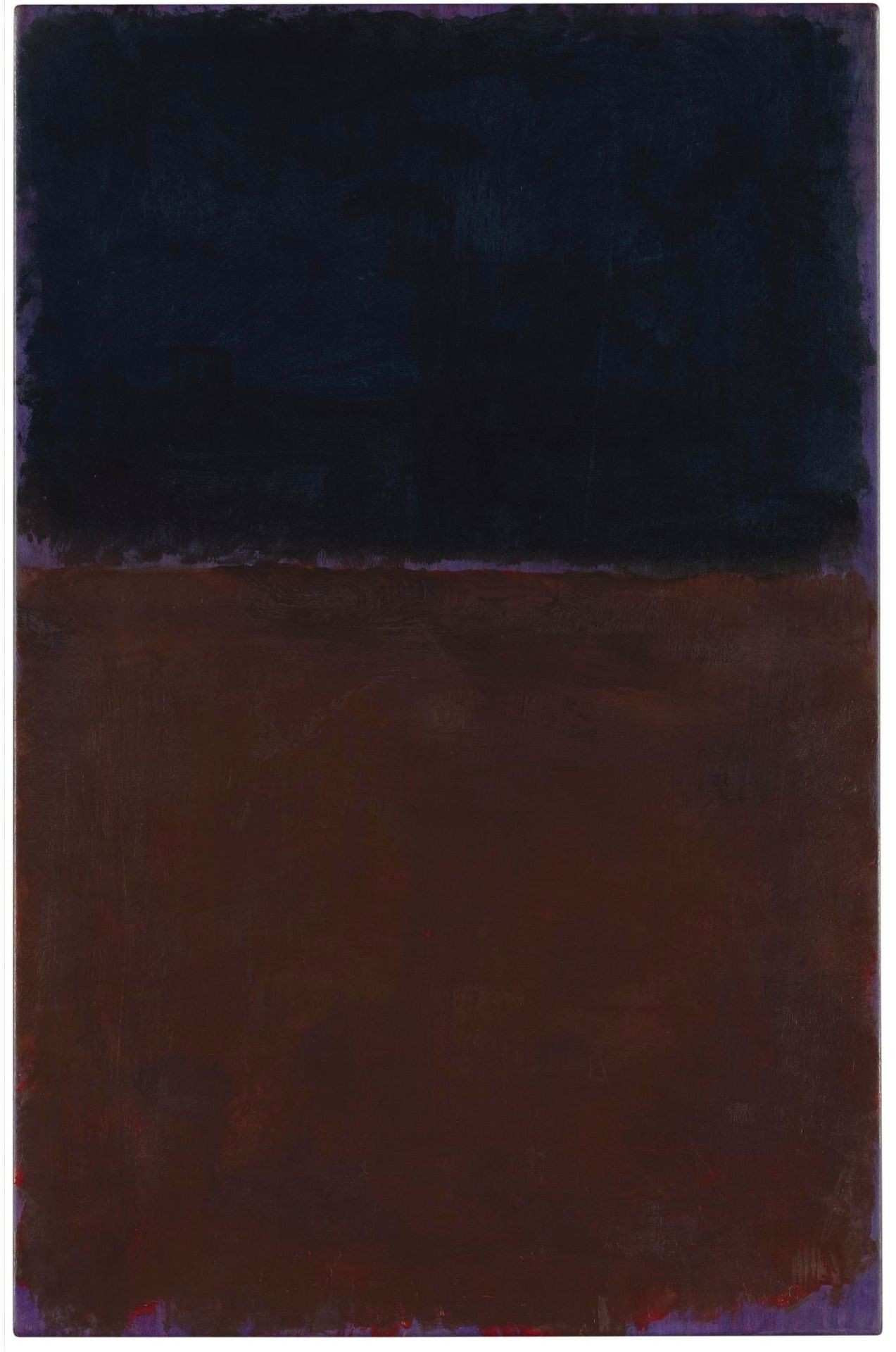 Mark Rothko Untitled Black Red Brown on Violet 1969 acrylic