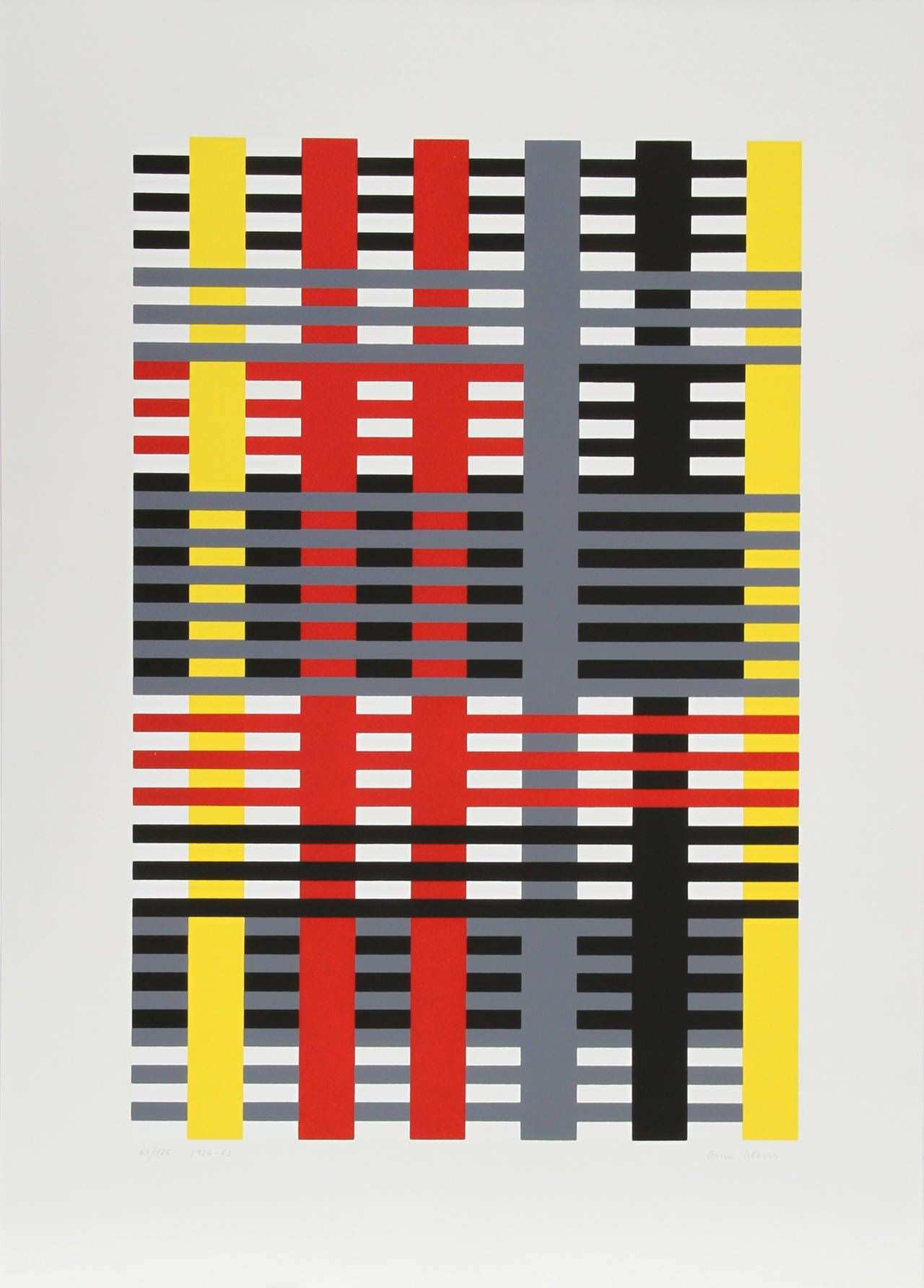 Anni Albers Study for unexecuted Wall Hanging Bauhaus