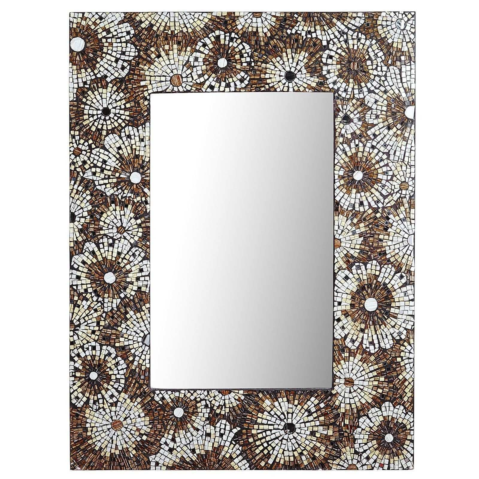 Champagne Floral Mosaic Mirror Pier 1 Imports