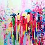 Acrylic Paintings For Sale Luxury Fineartseen Sunny Rain In Paris By Alena Shymchonak This Original Of Acrylic Paintings For Sale