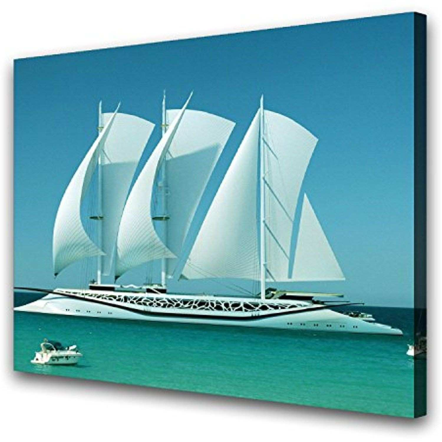 Airplane Canvas Wall Art New Hq Art Big White Ship Prints Paintings Canvas Wall Art Picture Home