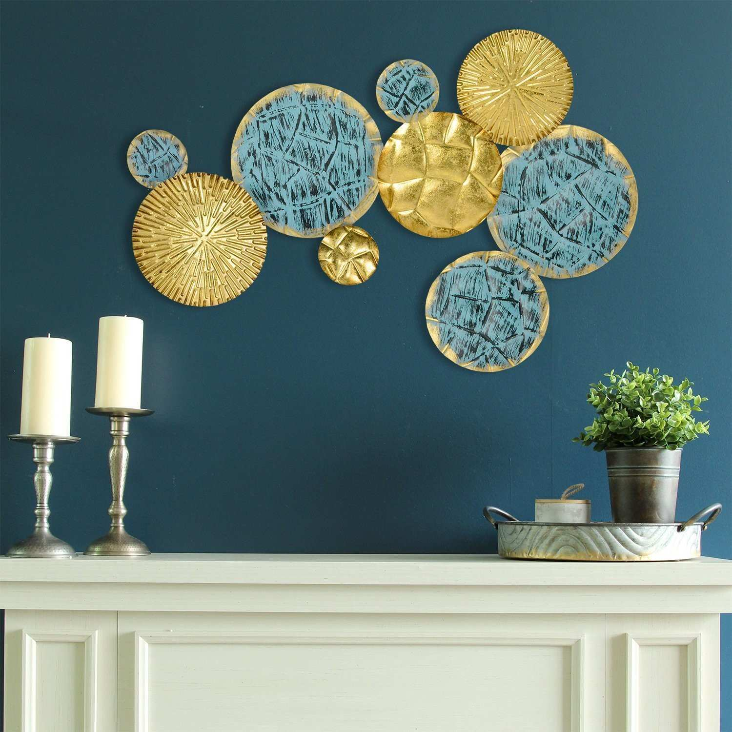Ivy Bronx Jewels of the Sea Plates Wall Décor