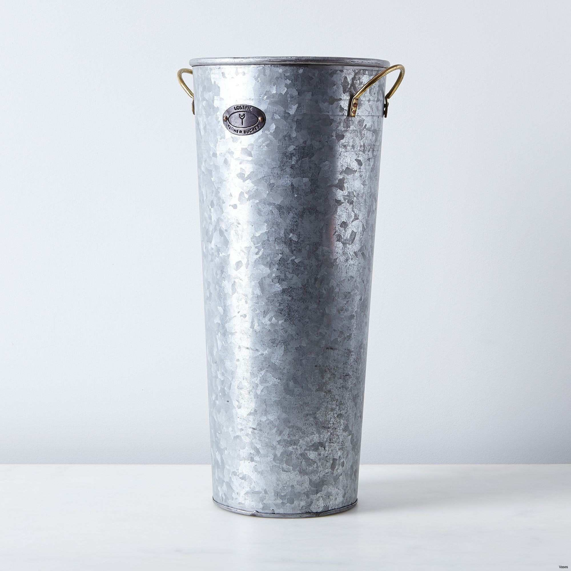 Galvanized Metal Vase Awesome 611qyvaa5ql Sl1200 H Vases Galvanized