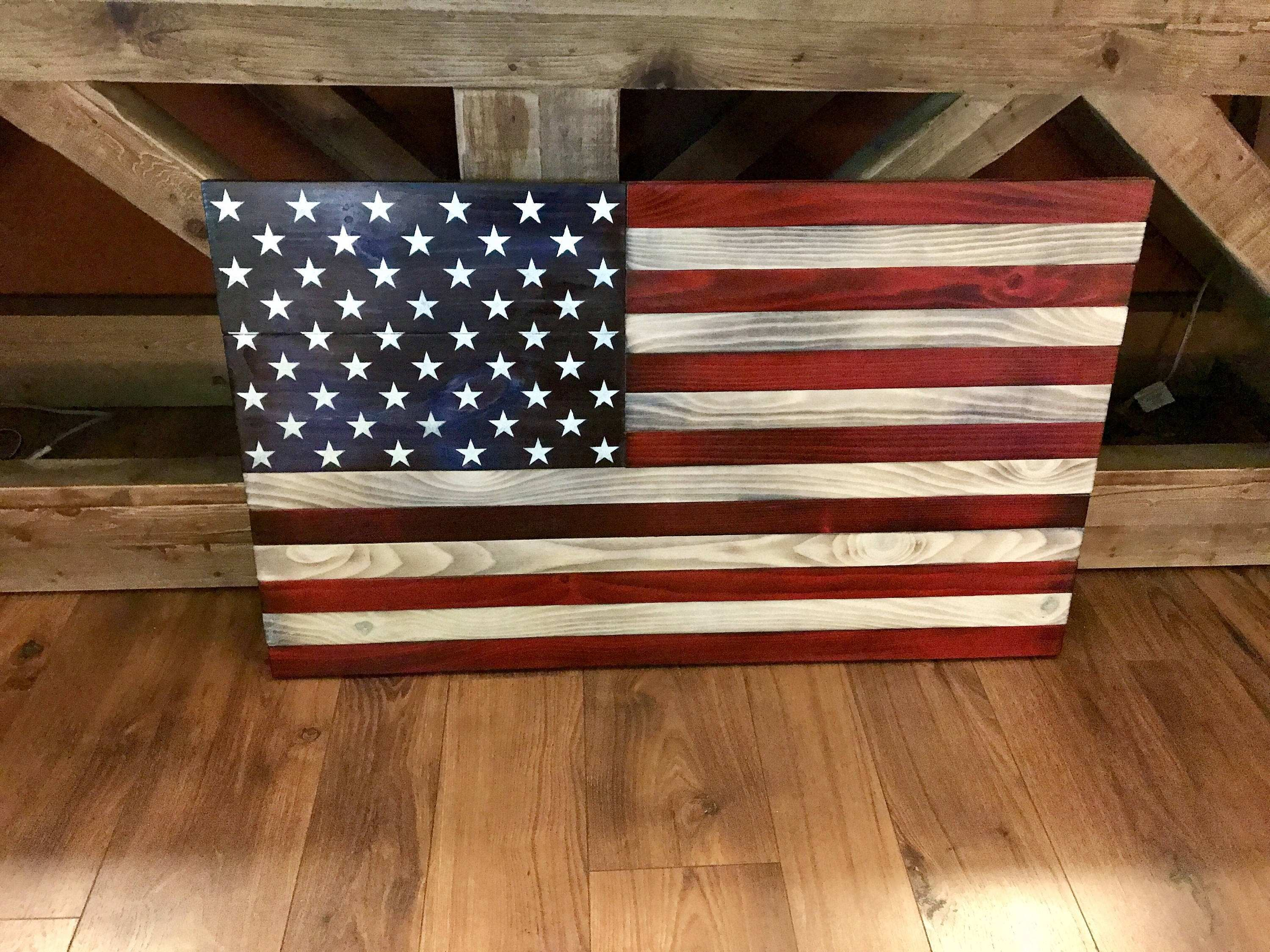 Free Download Image New American Flag Canvas Wall Art 650 488