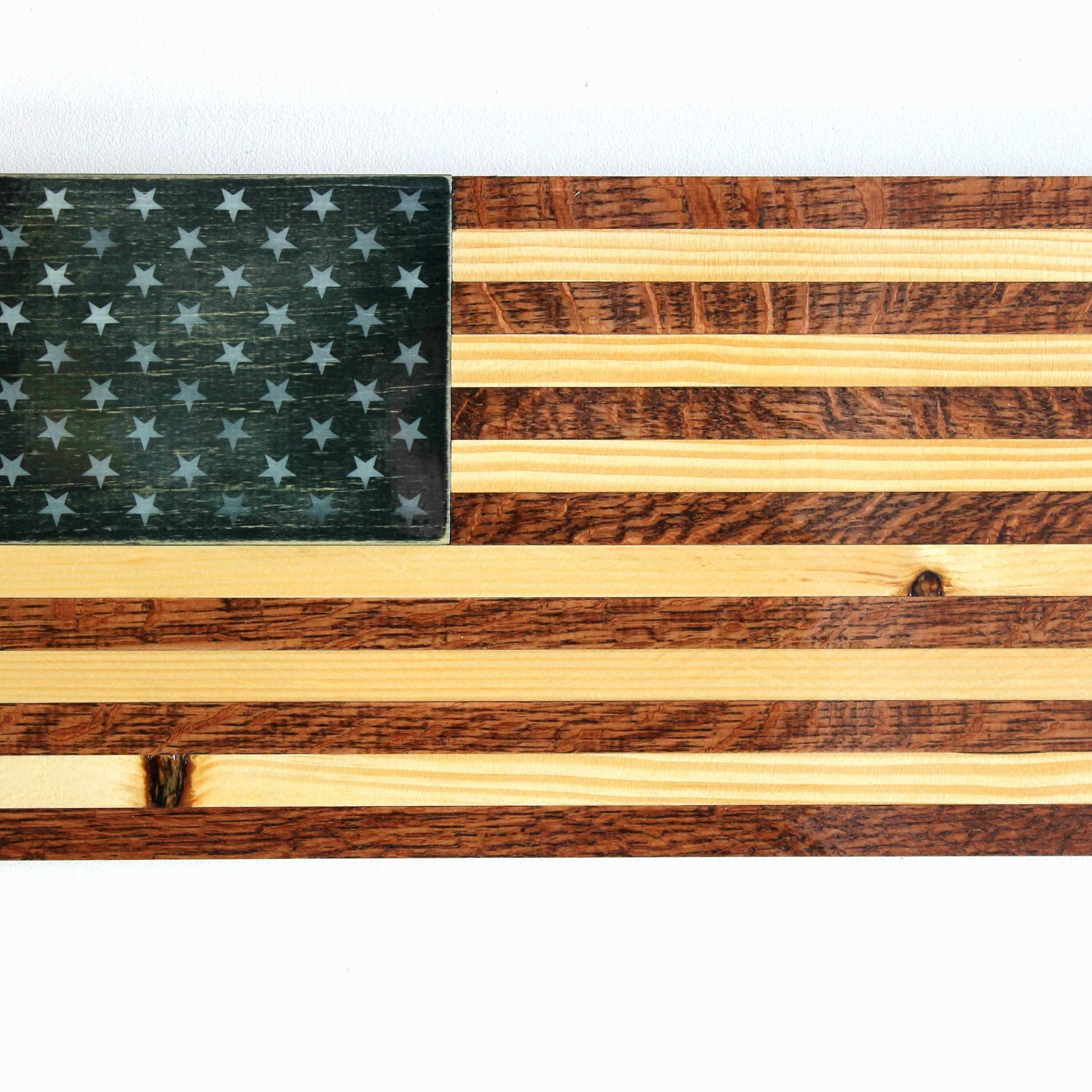 17 Lovely American Flag Home Decor