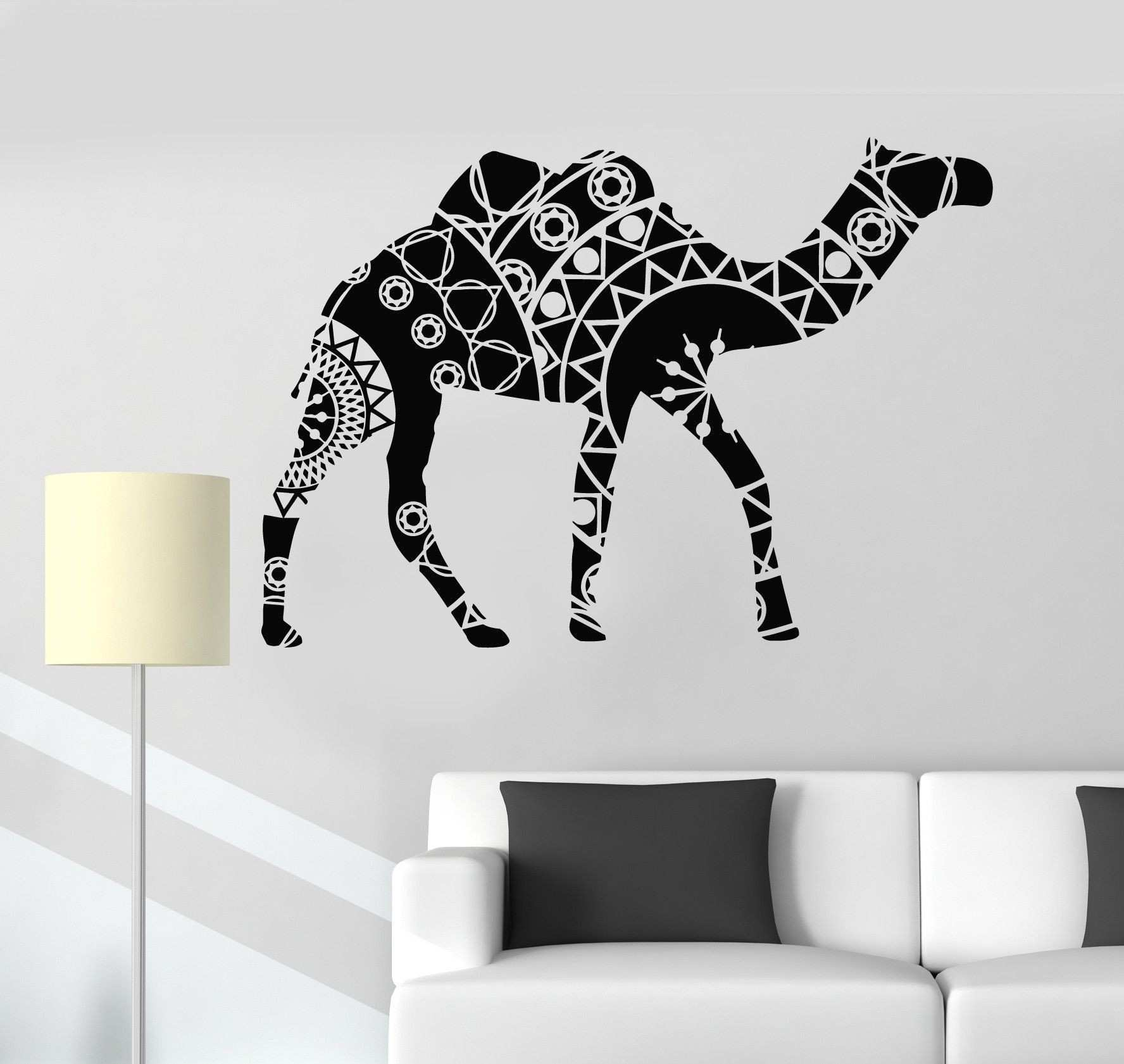 Vinyl Wall Decal Camel Animal Decoration Home Interior Stickers