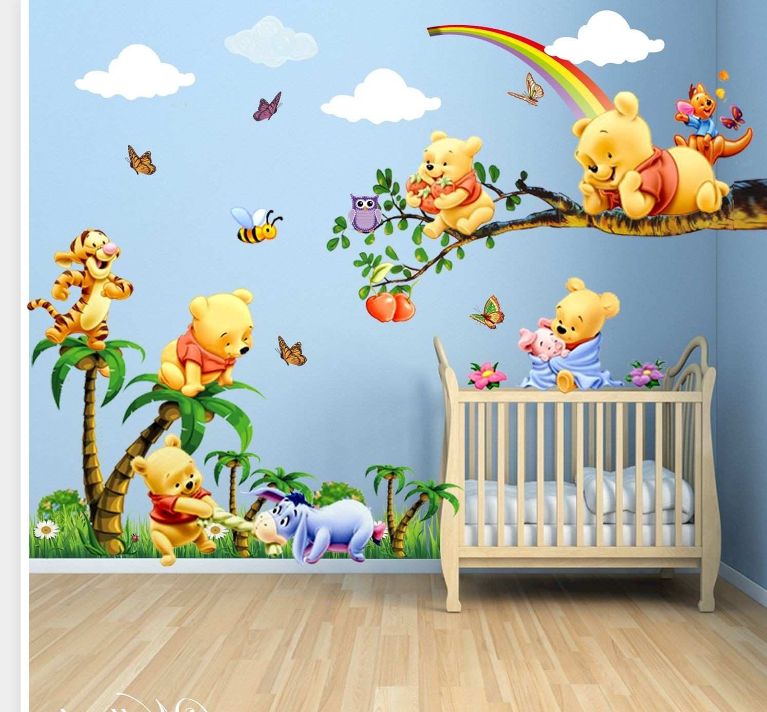 Gorgeous Baby Room Wallpaper 3 Nursery Design Girl Wall Decor