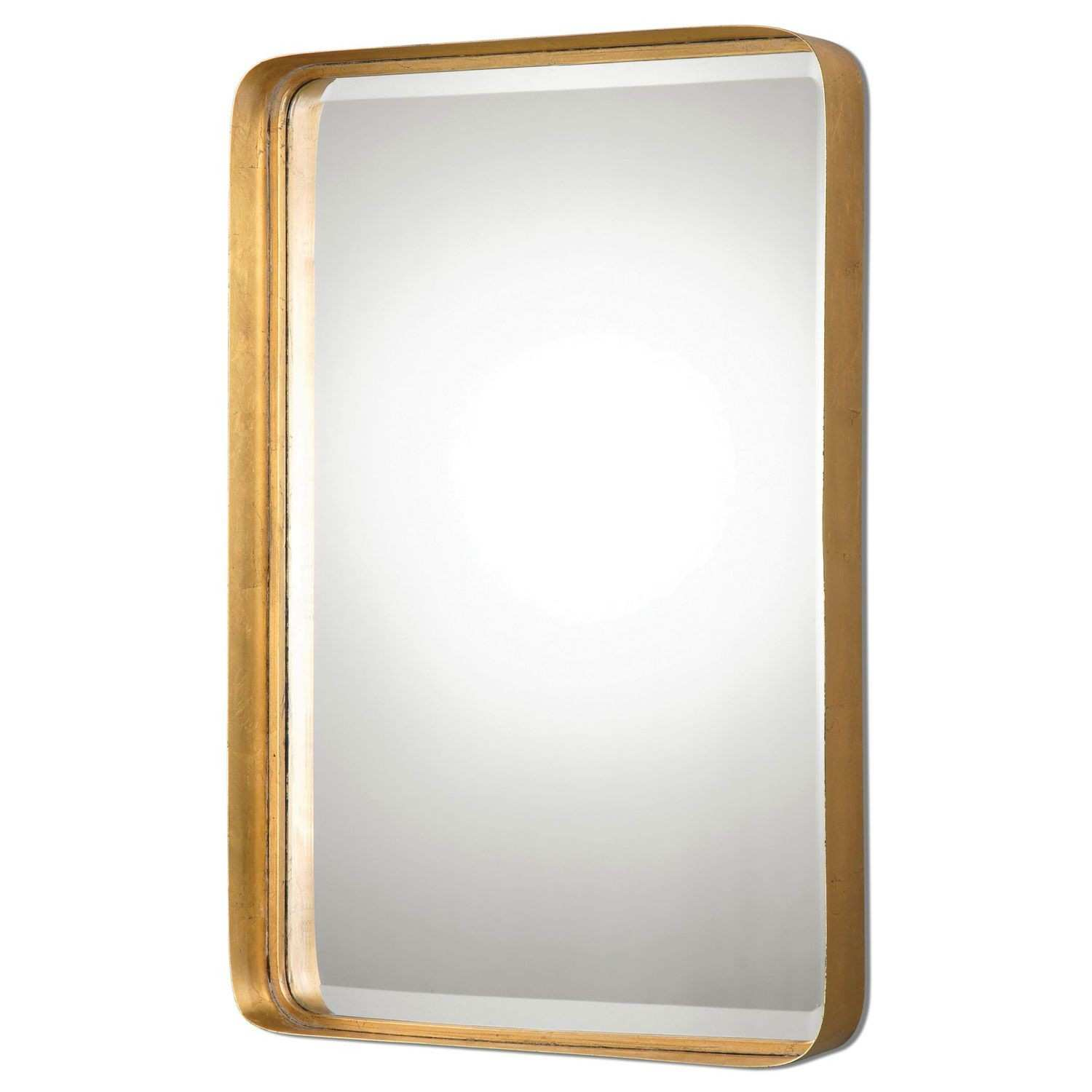 Uttermost Crofton Antique Gold Mirror Pinterest