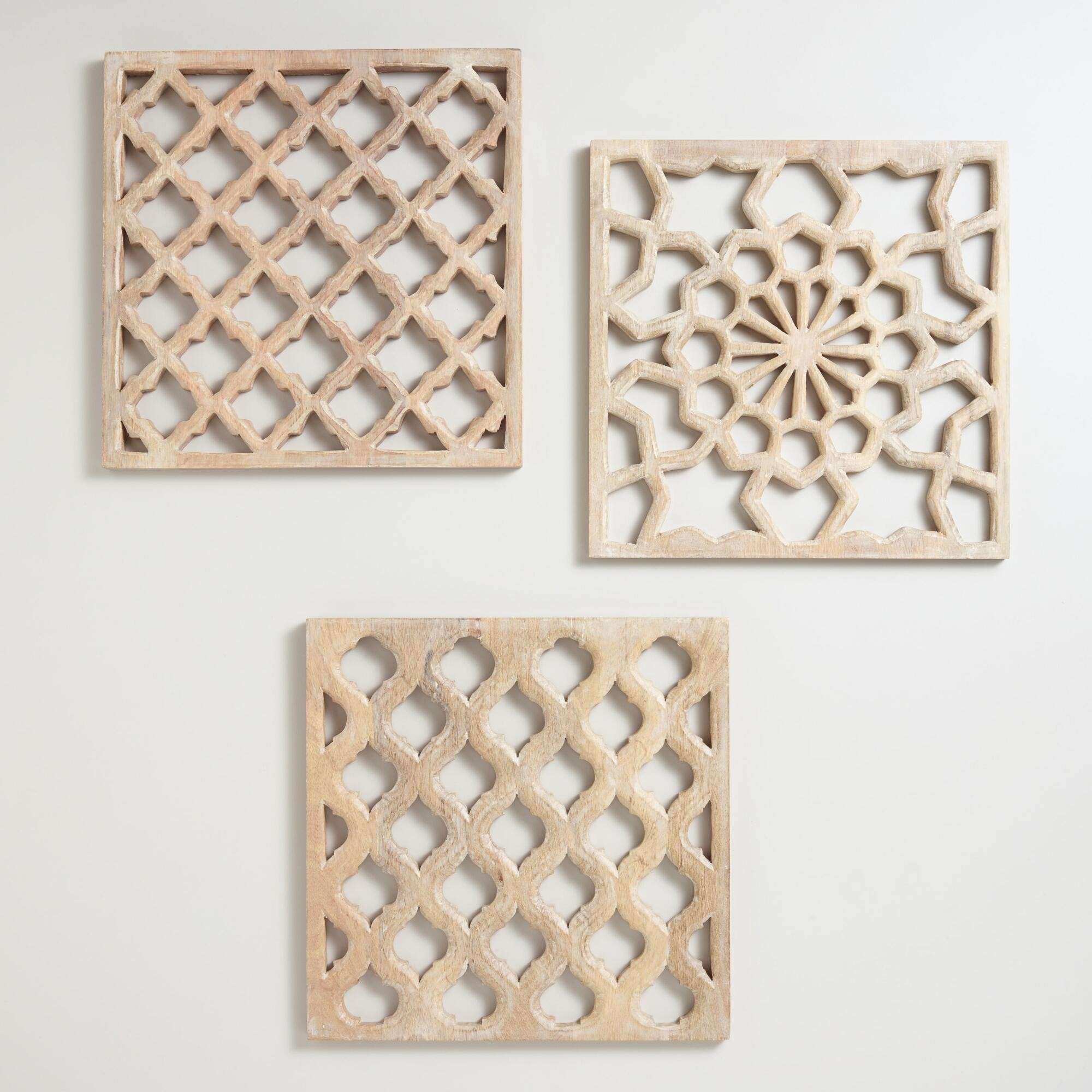 Wall Decor Wooden Panels
