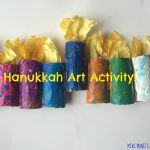 Art Activities for Kids Elegant Hanukkah Menorah Kids Craft