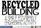 Art Activities for toddlers New Recycled Building Stem Activity Pinterest