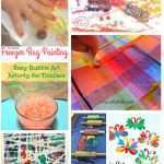 Art And Craft Ideas For Kids Beautiful 50 Painting Without Brushes Ideas Of Art And Craft Ideas For Kids