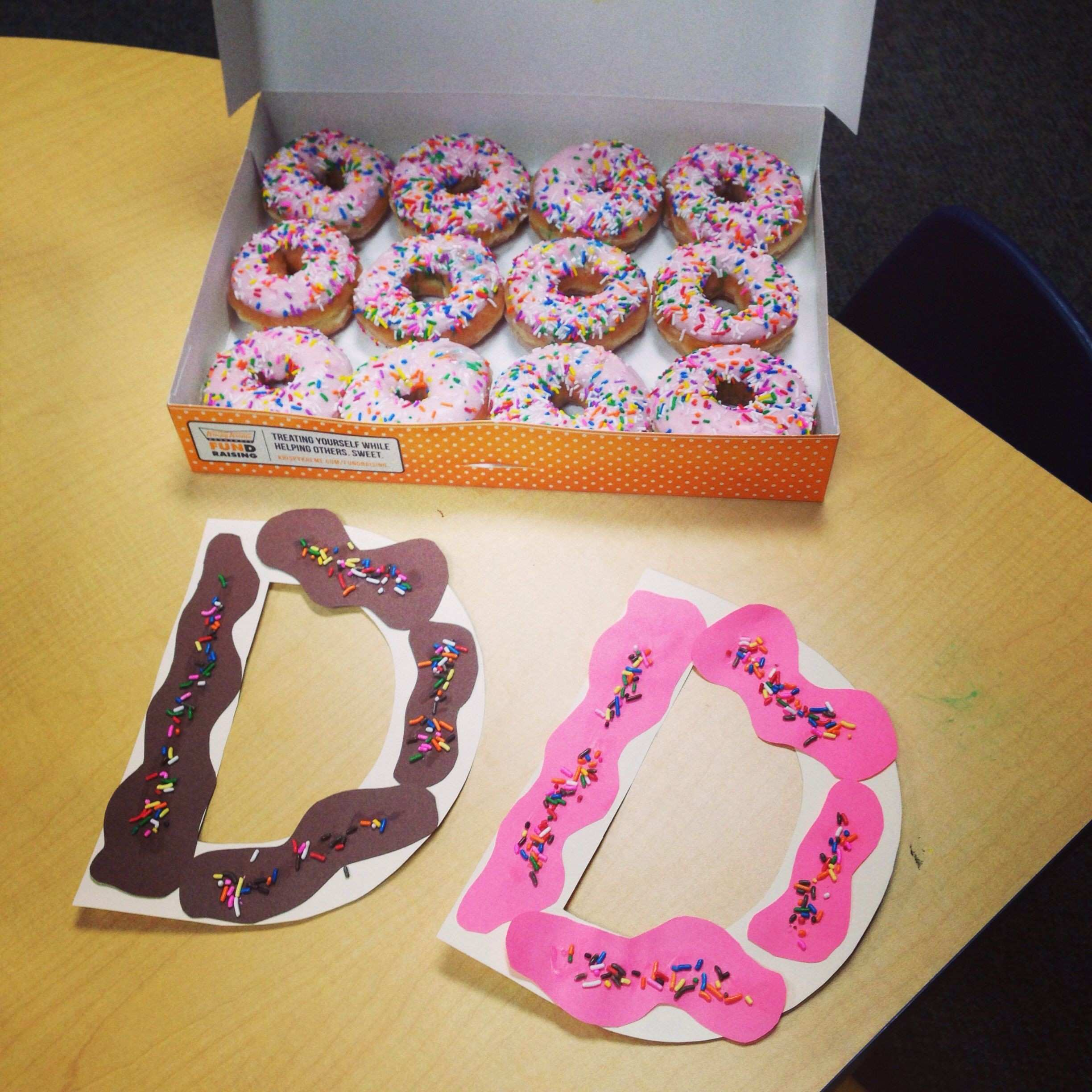Letter d donut craft preschool d a great excuse to eat donuts