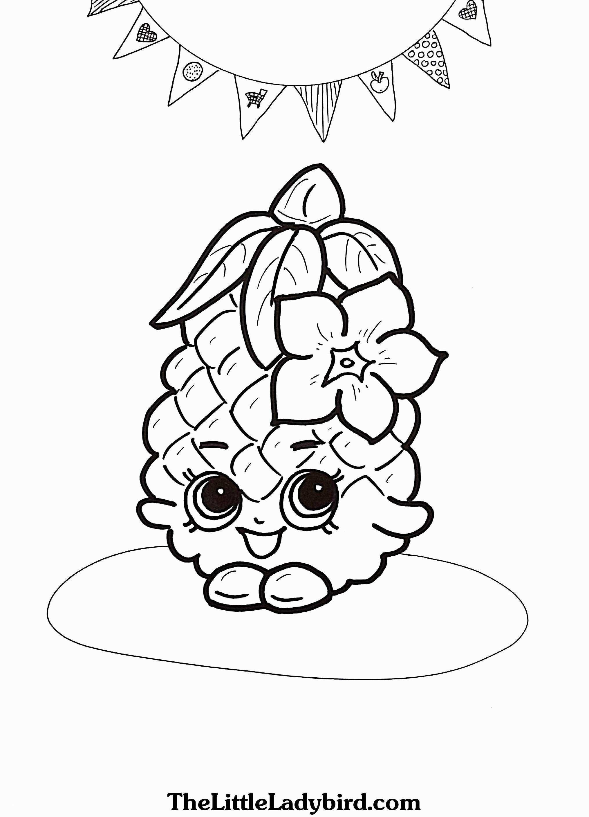 Pineapple Coloring Page heathermarxgallery