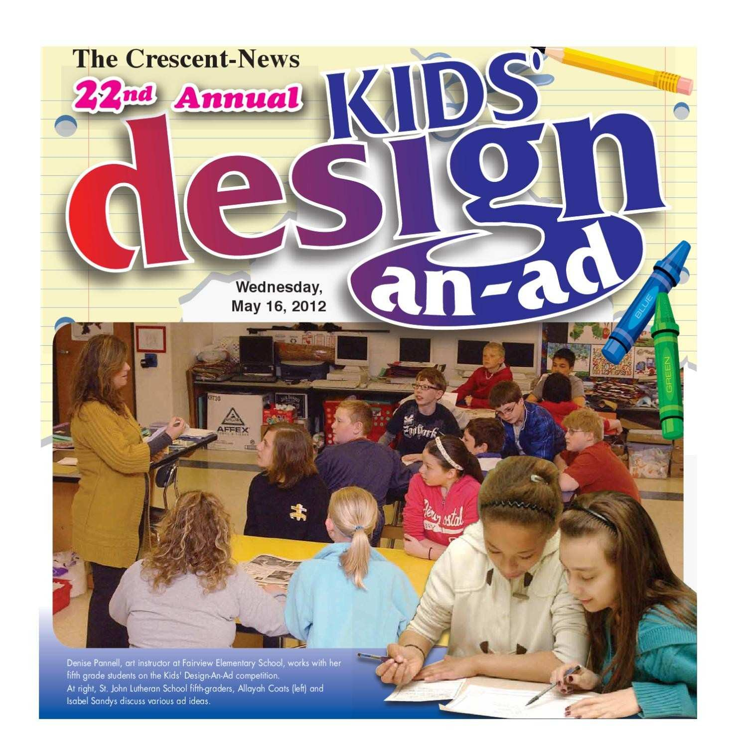 Kids Design An Ad by GateHouse Media NEO issuu