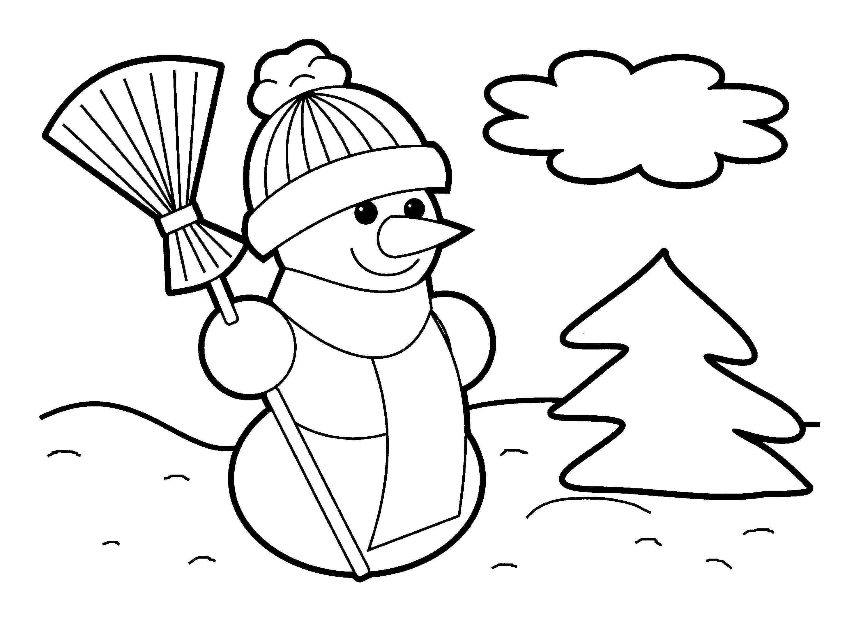 Printable Christmas Coloring Pages Crafts Pinterest – Fun Time