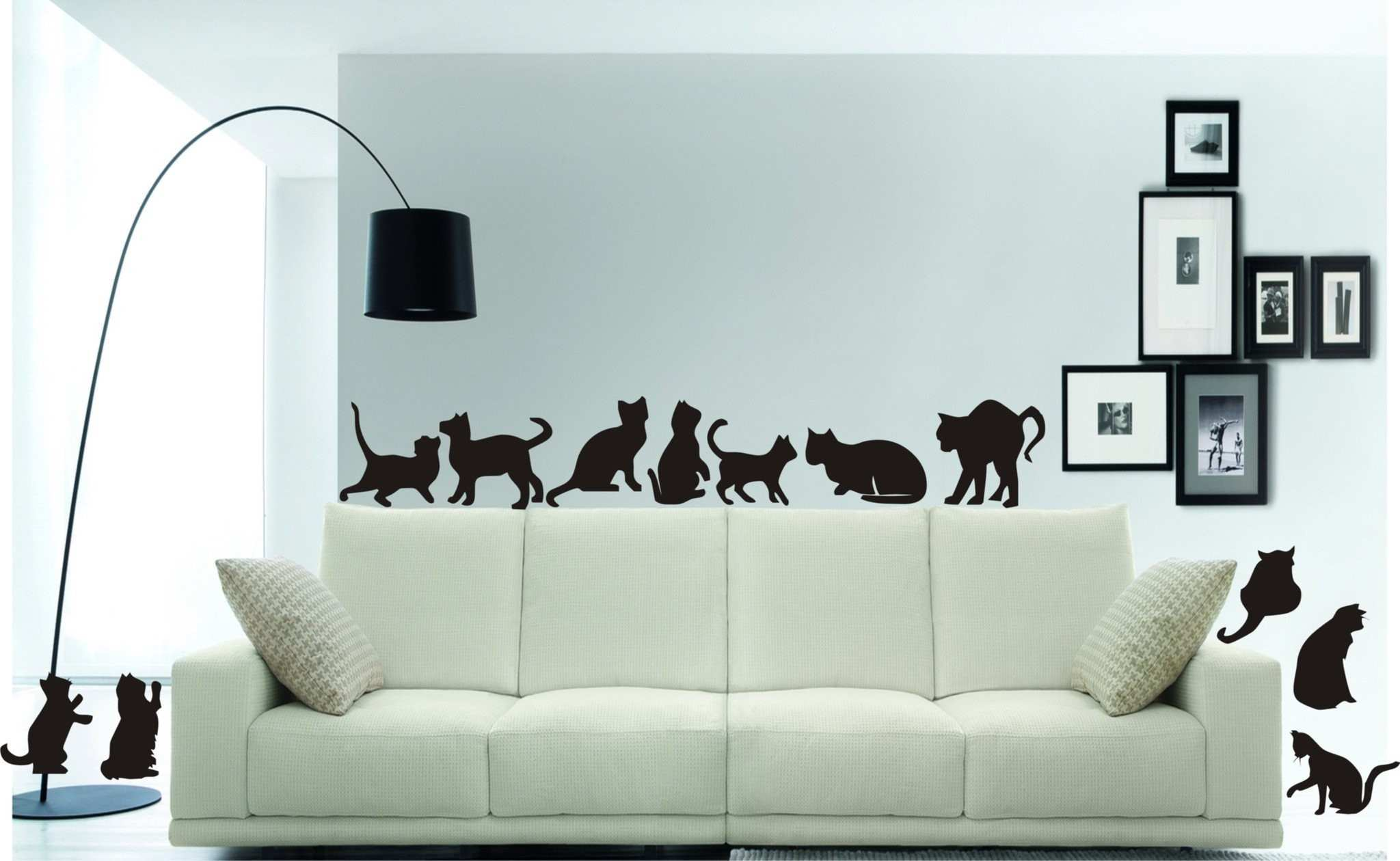 Cat Stickers look great on any flat surface lovely decals for the