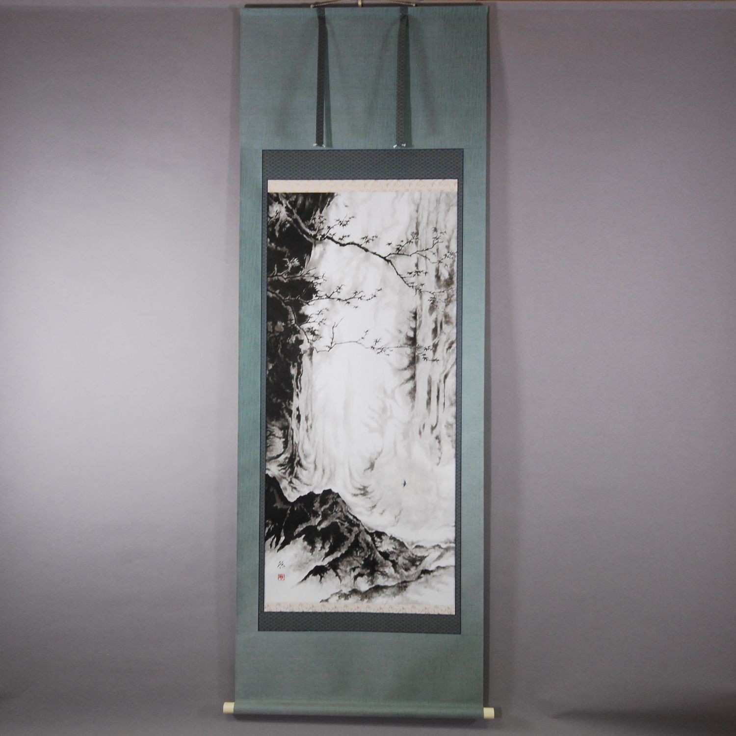 Japanese art for a wall gallery The kakejiku is a Japanese hanging