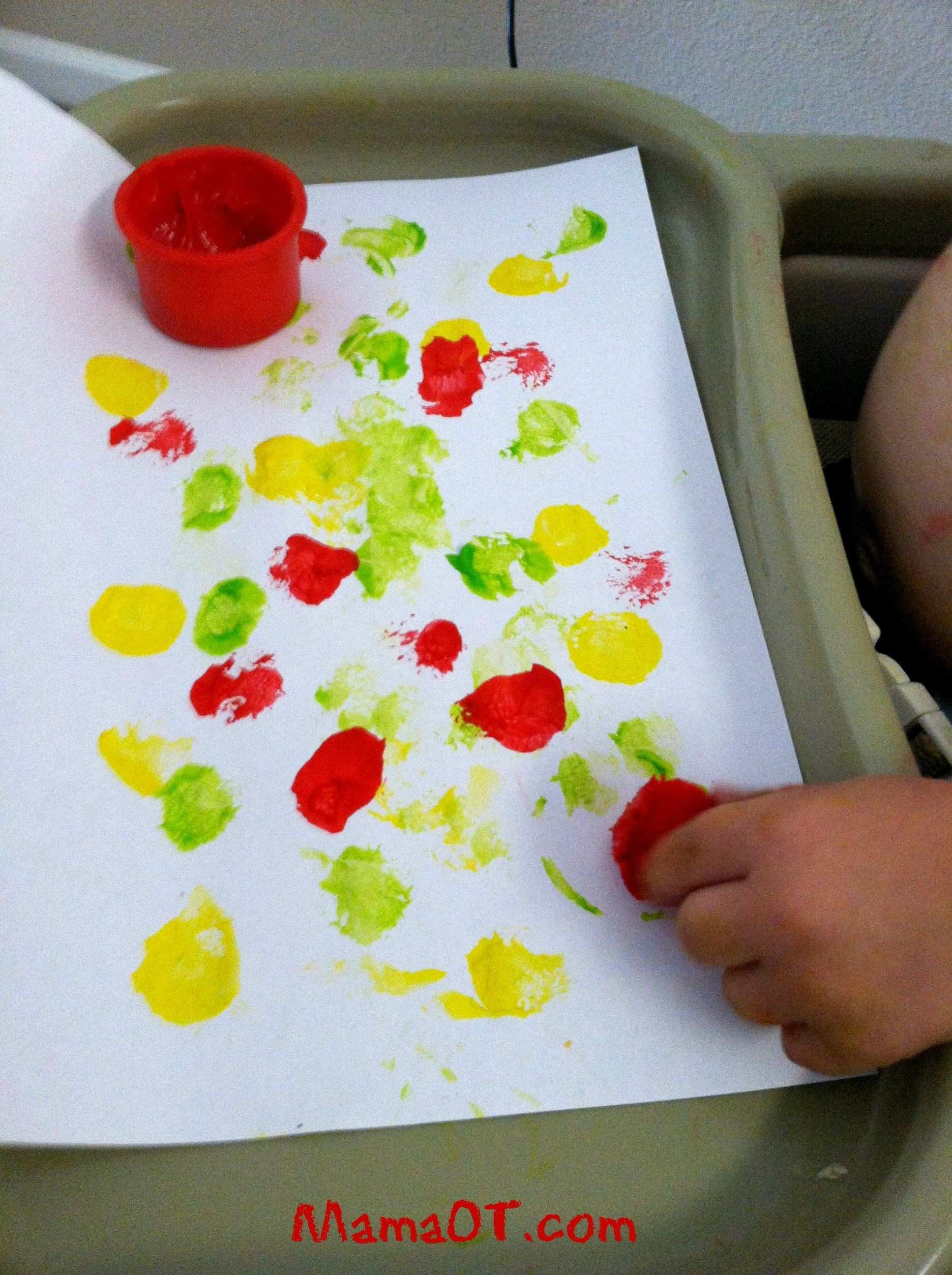 Painting with Pom Poms Toddler Approved Pinterest