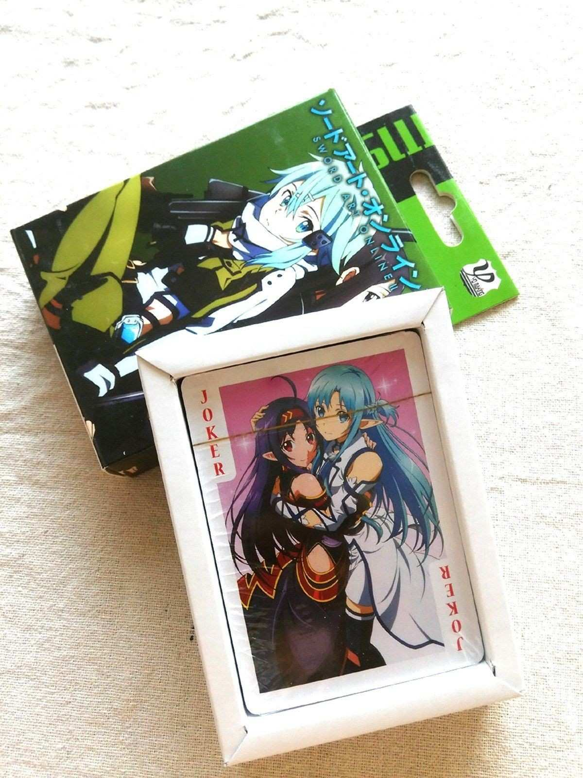 Sword Art line Playing Cards Style 1