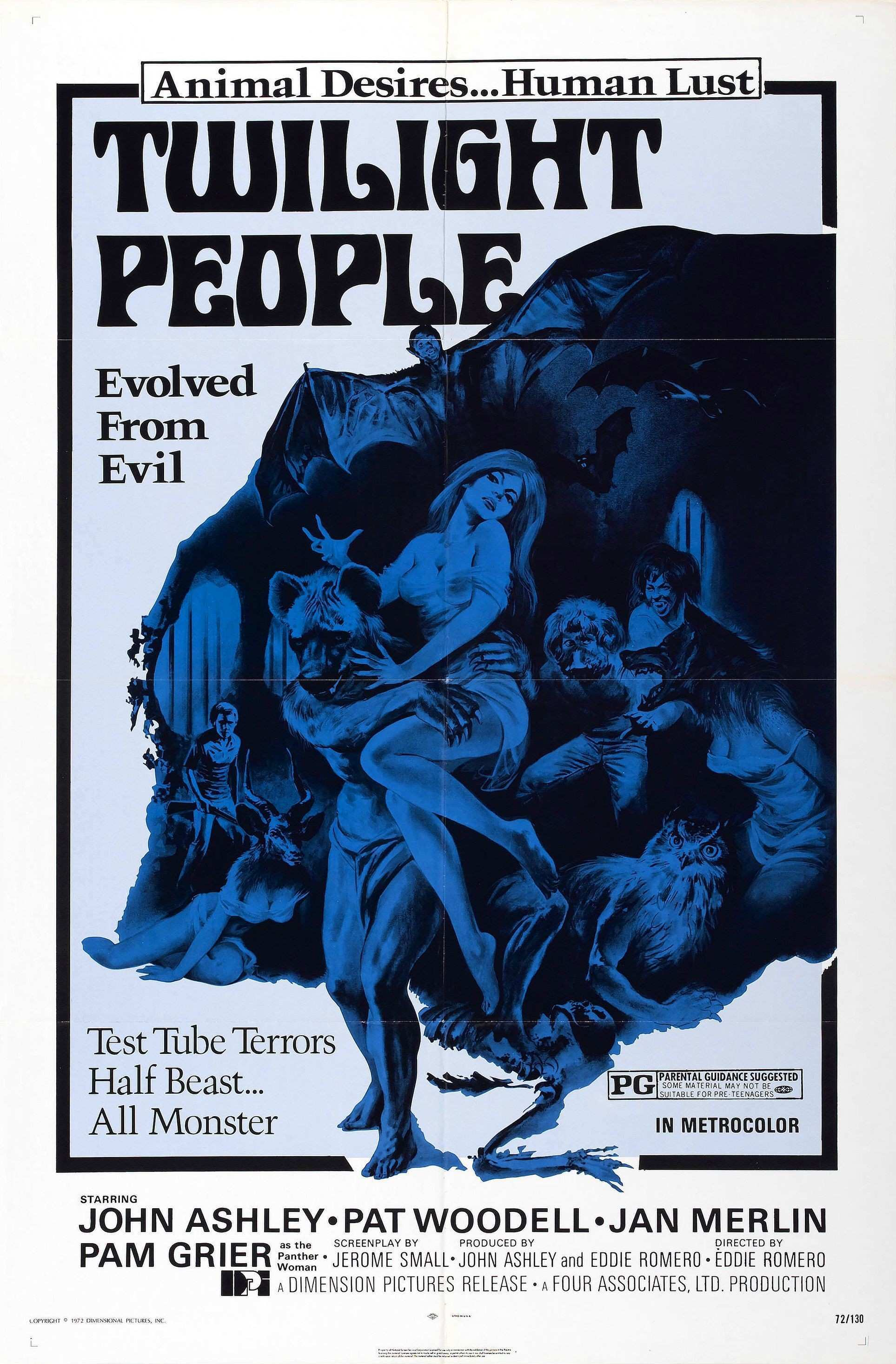 The Twilight People 1973 USA poster