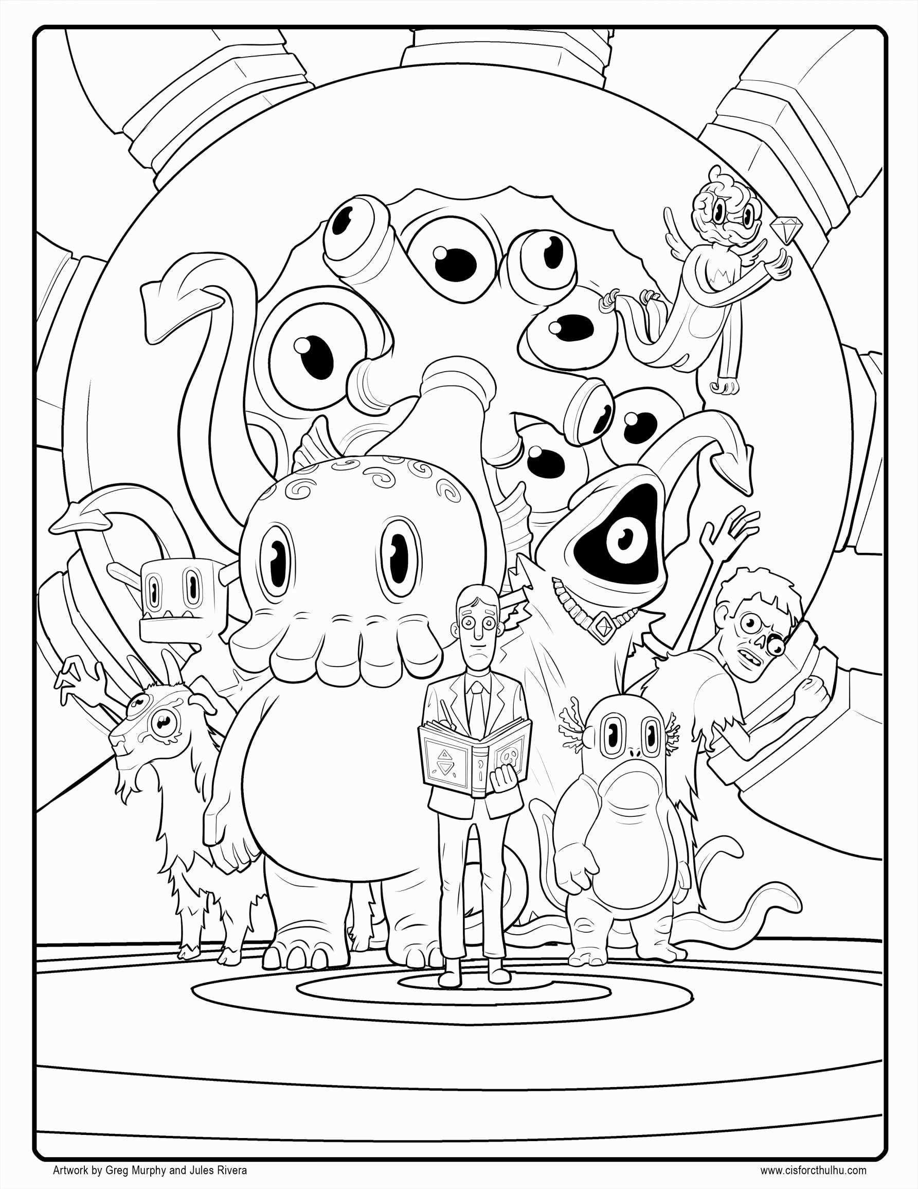 Printable Christmas Coloring Pages line