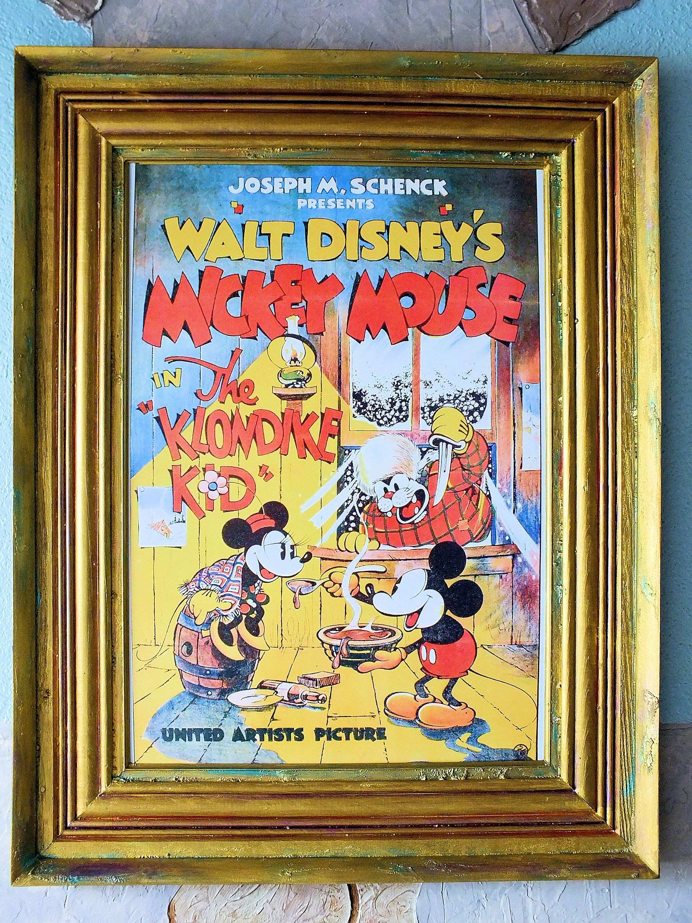 16x24 Mickey Mouse Tom Jerry Disney Reproduction Fine Art Print