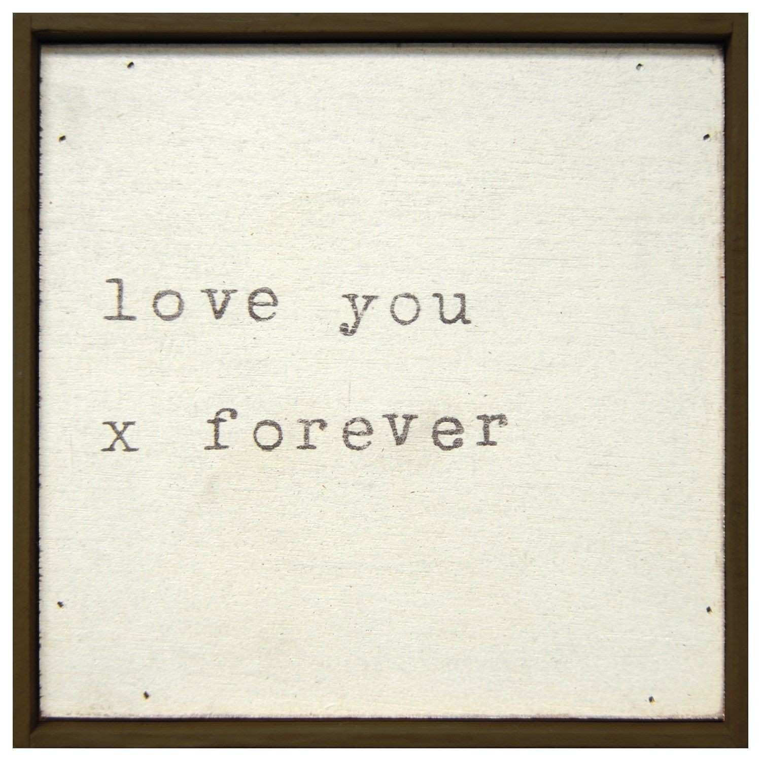 Sugarboo Designs Little Print Love You X Forever