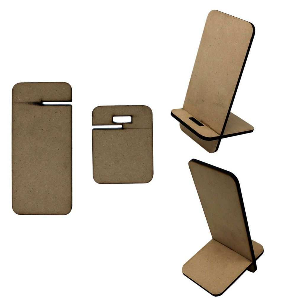 Artwork for Sale Online Lovely Unfinished Mdf Blanks Wood Cutout Mobile Stand [9x11 5x19 5 Cm
