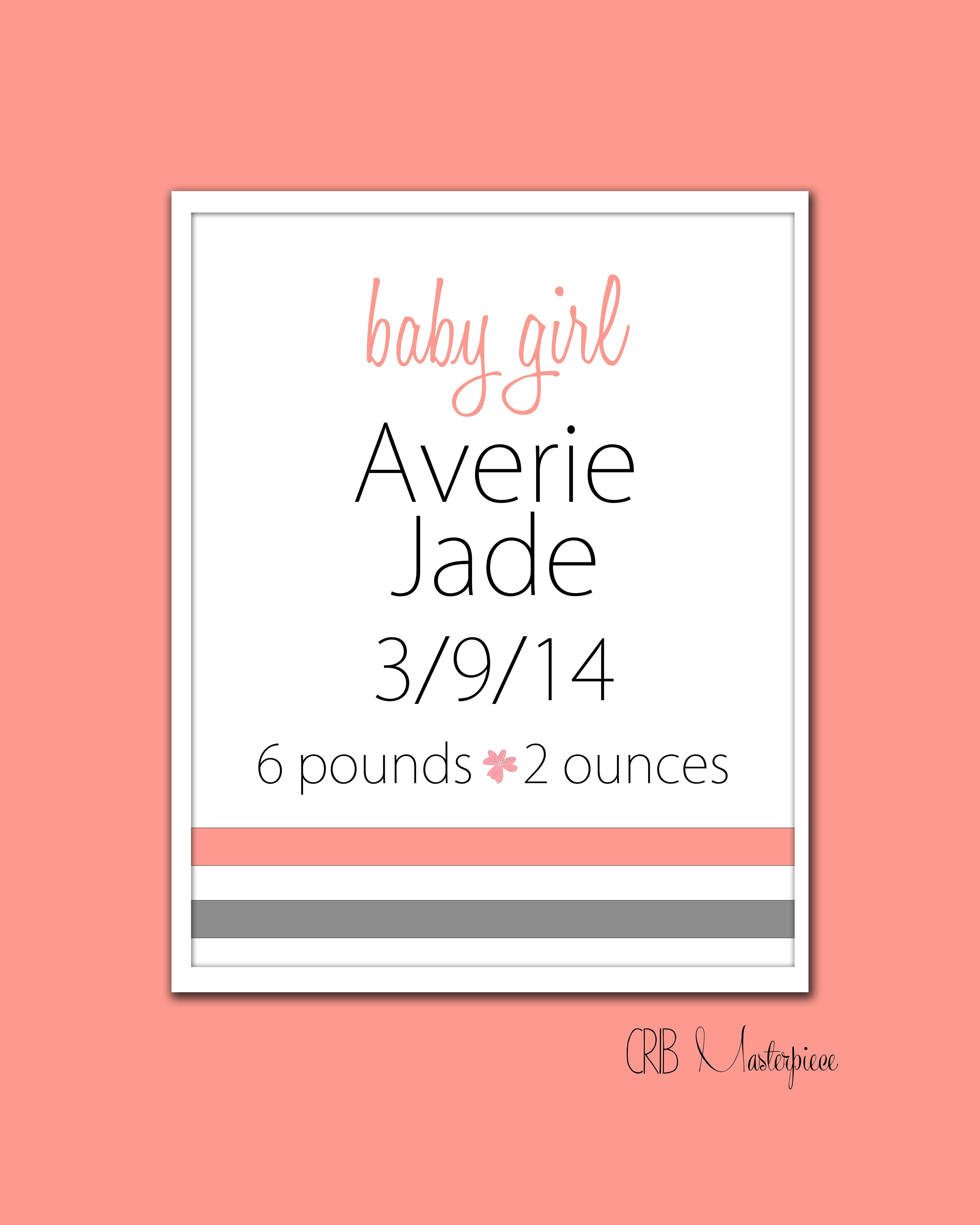 That s My Baby Personalized Nursery Art for Baby Boy or Baby Girl