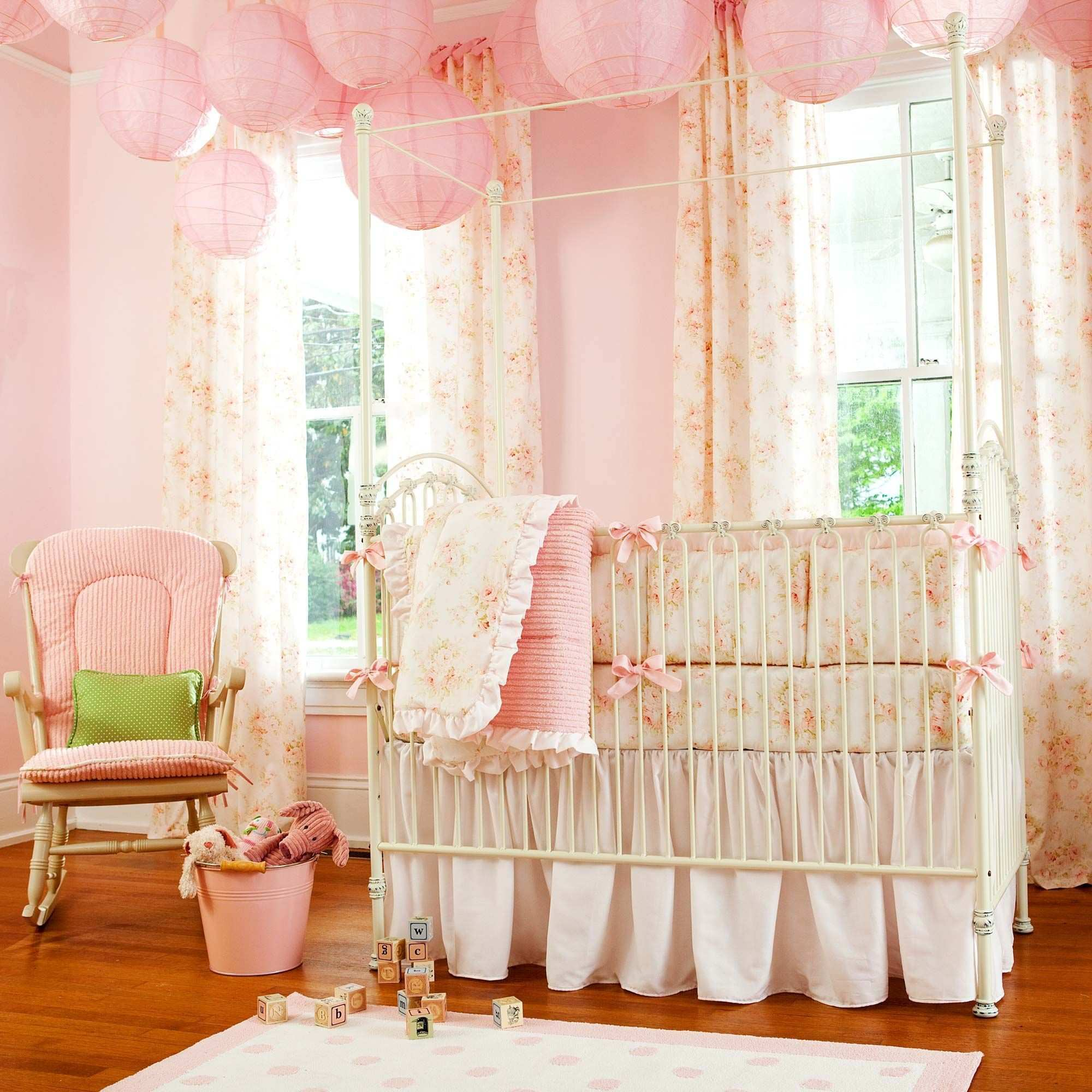 Shabby Chenille Baby Bedding Collection Pinterest