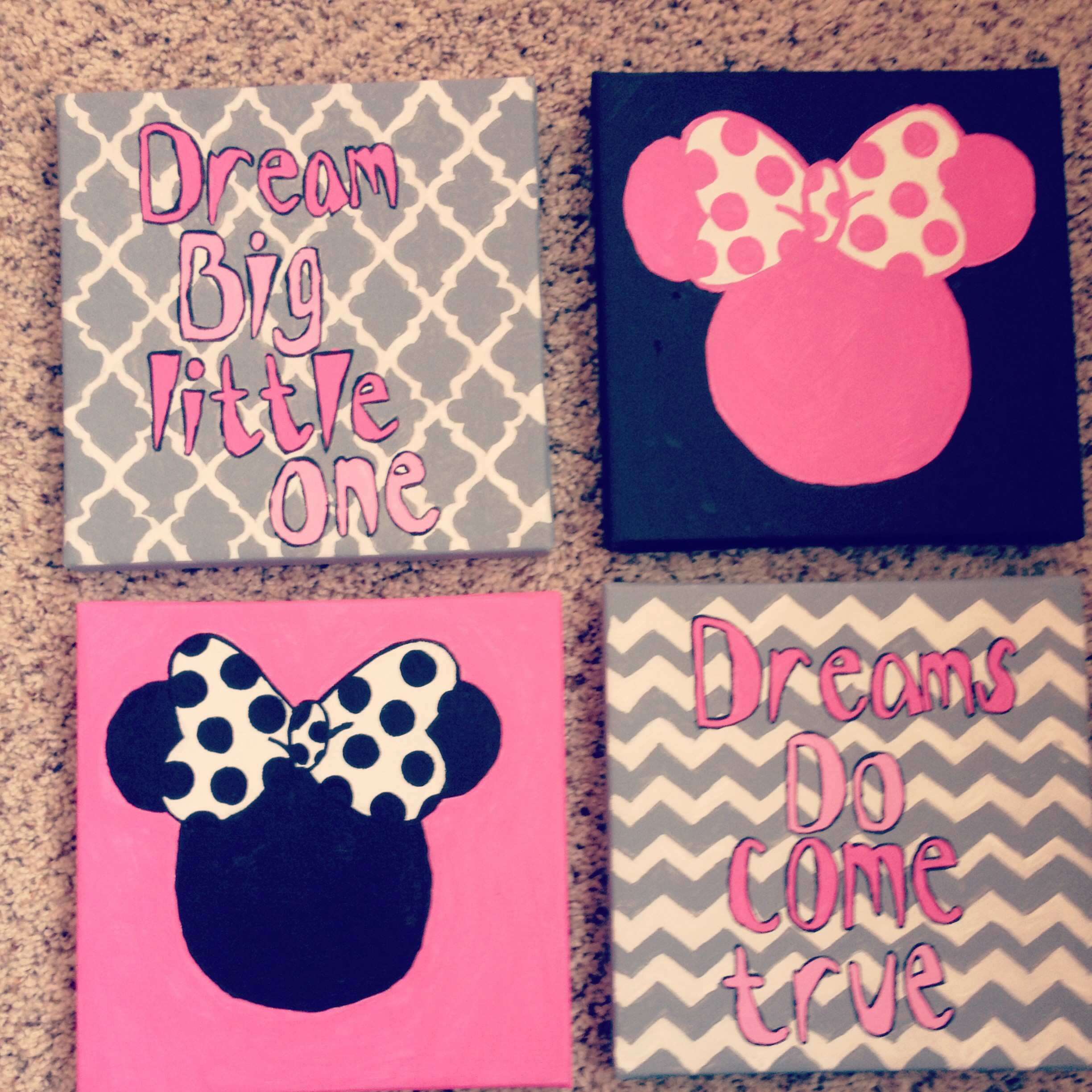 Impressive Ideas Minnie Mouse Wall Decor Bedroom Also Baby Room