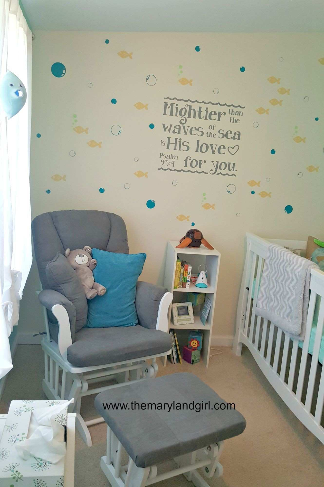 Under the Sea Nursery Decals Granddaughter Pinterest
