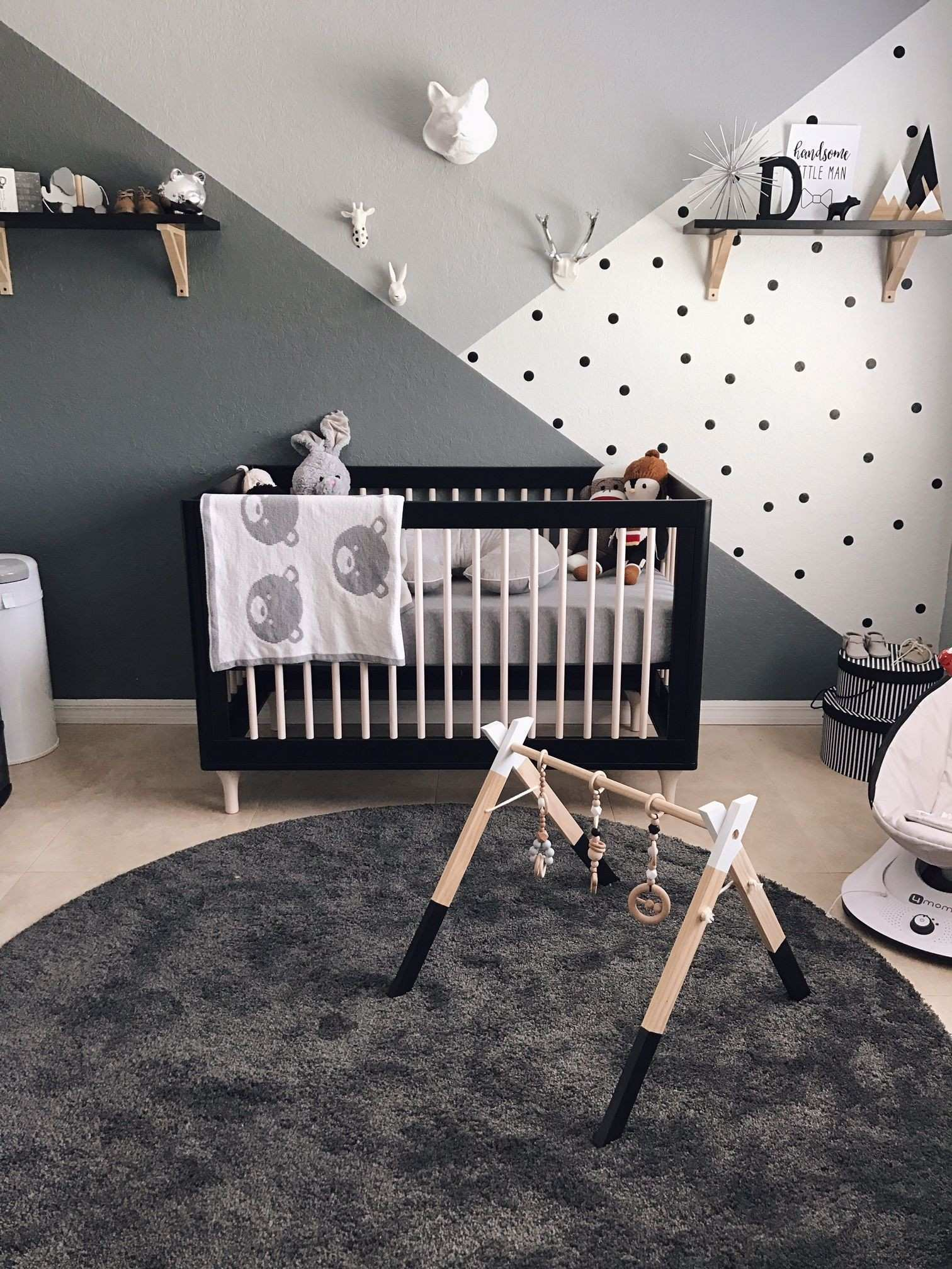 Monochrome Zoo Nursery Pinterest