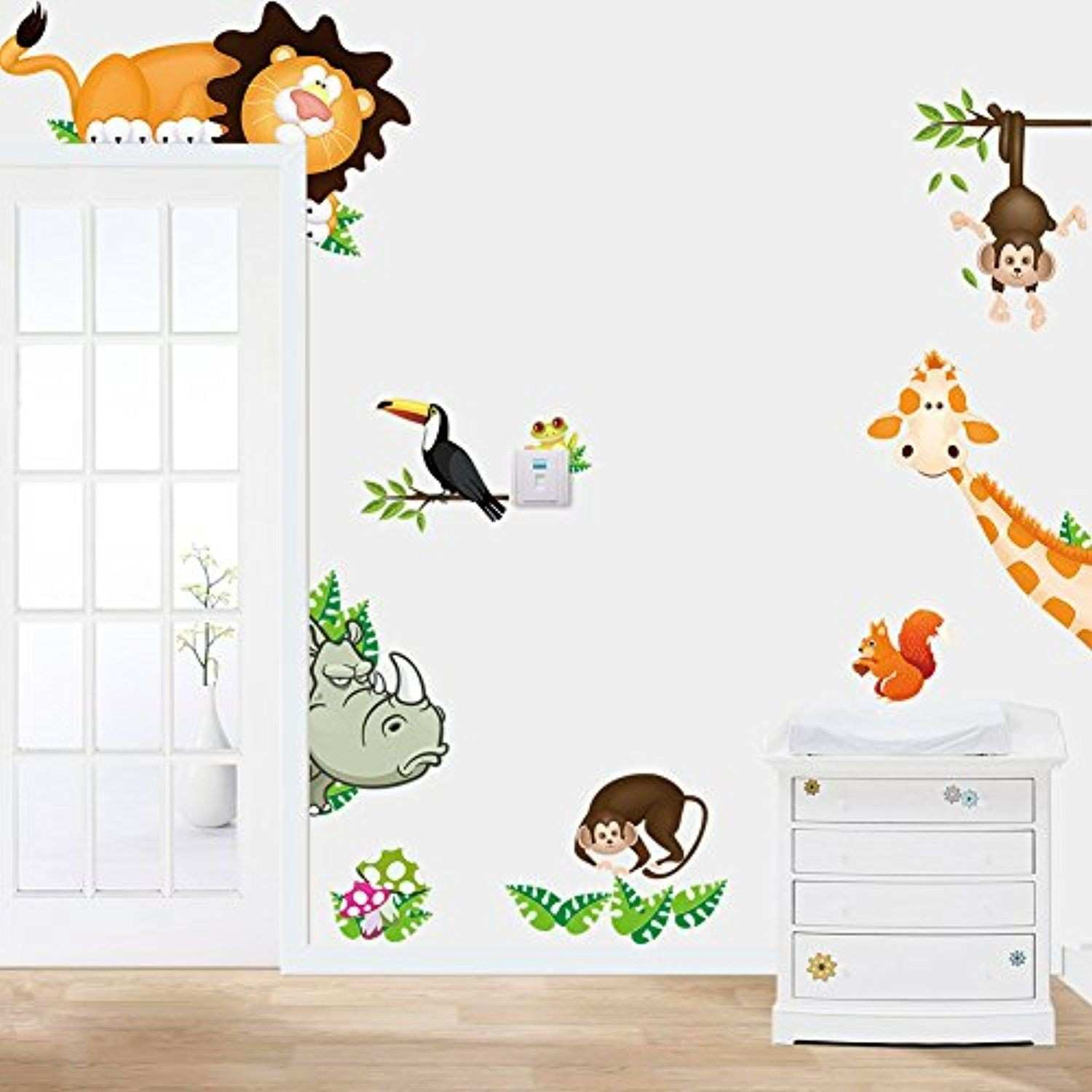 Marvides Wall Stickers for Kids Room Backdrop Stickers Kindergarten