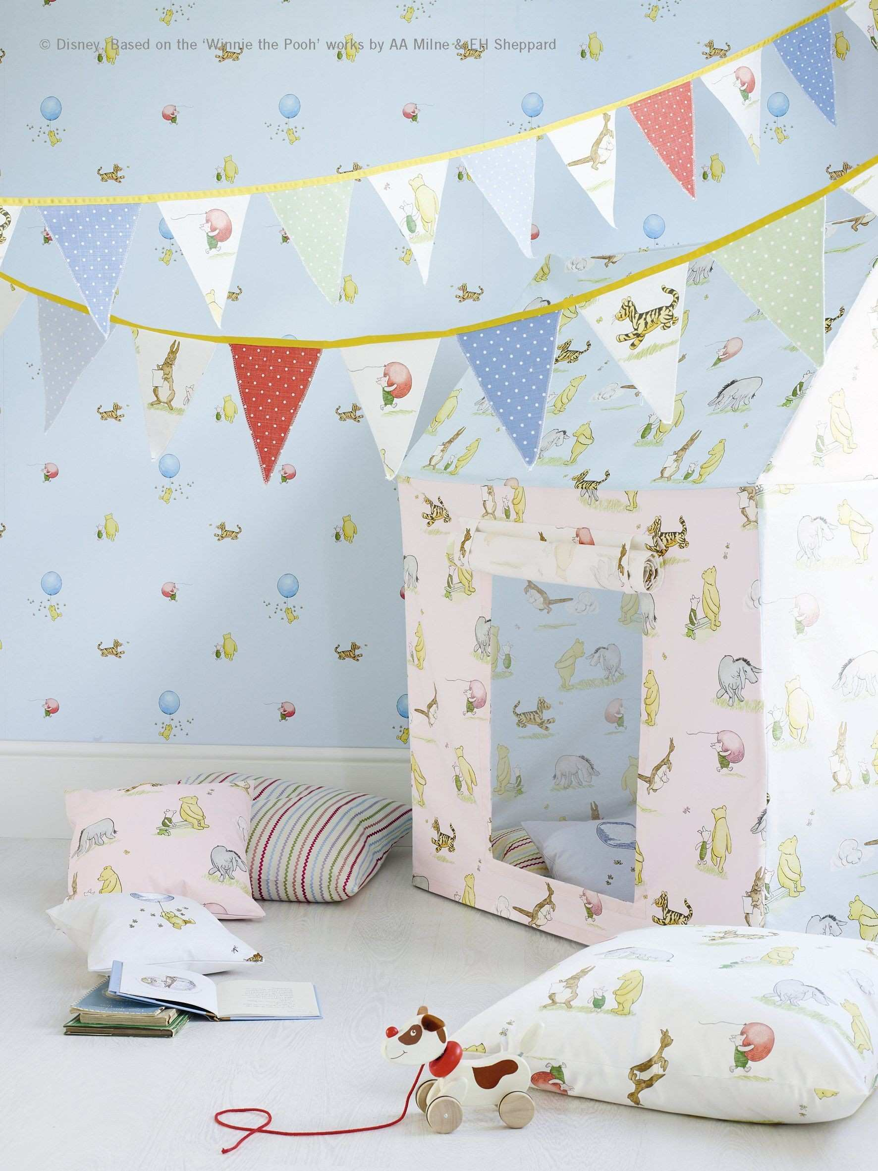 Fabrics and wallpaper from the Nursery Tales Collection by Jane