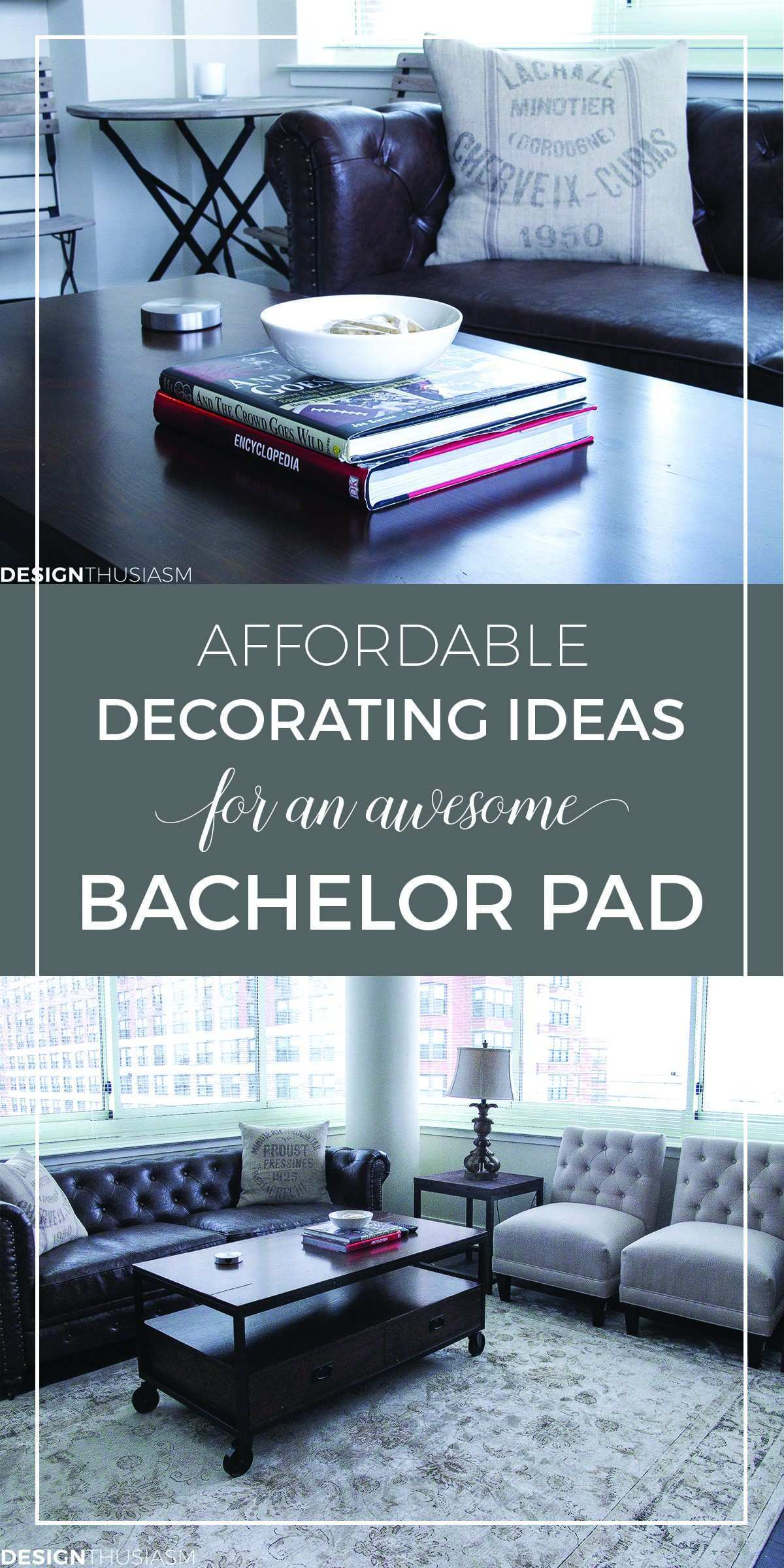 Bachelor Pad Ideas Decorating a Young Man s Apartment