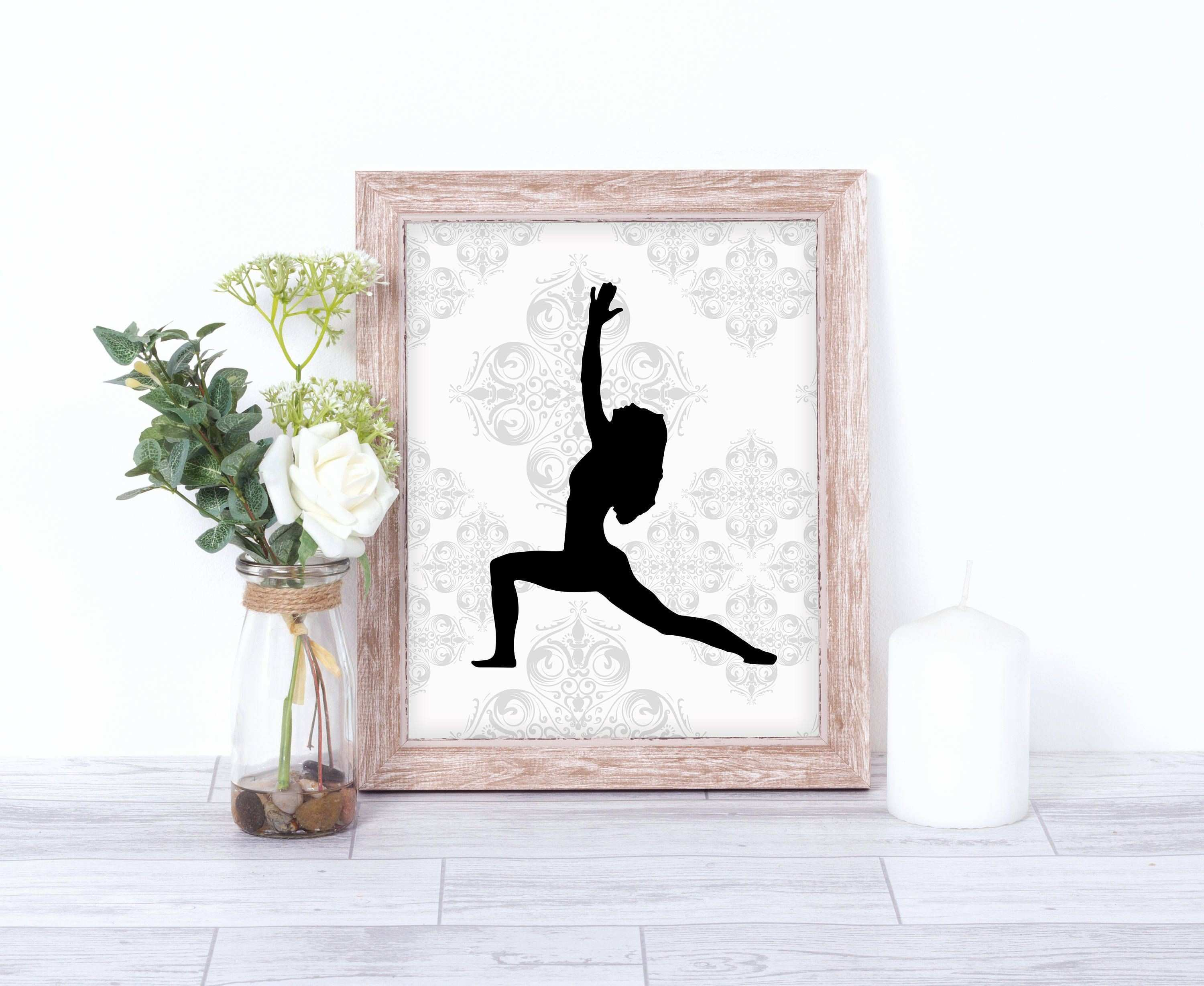 photograph regarding Ballerina Silhouette Printable known as Absolutely free Obtain Graphic Remarkable Ballerina Wall Artwork 650*533