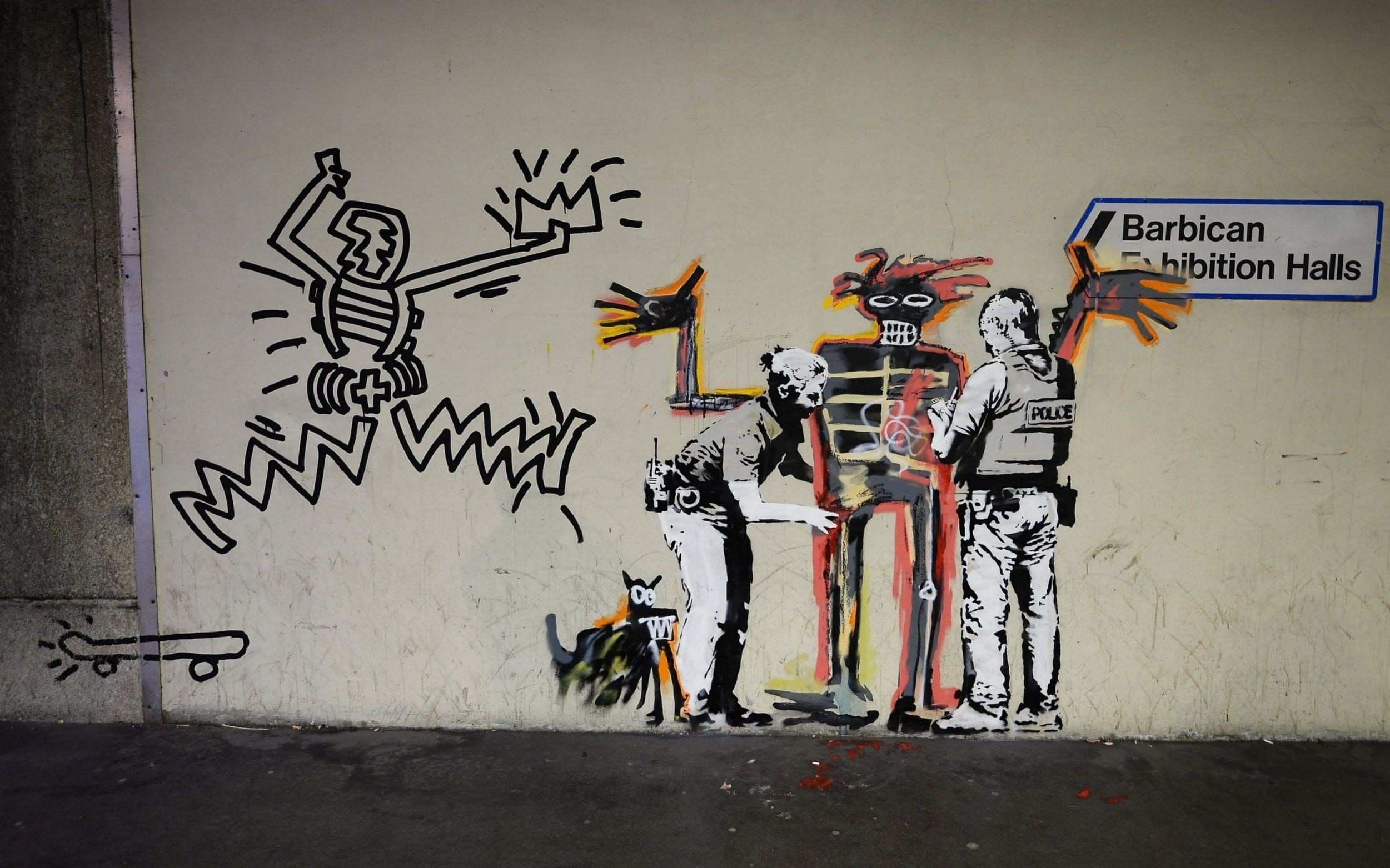 Awesome Banksy Wall Art