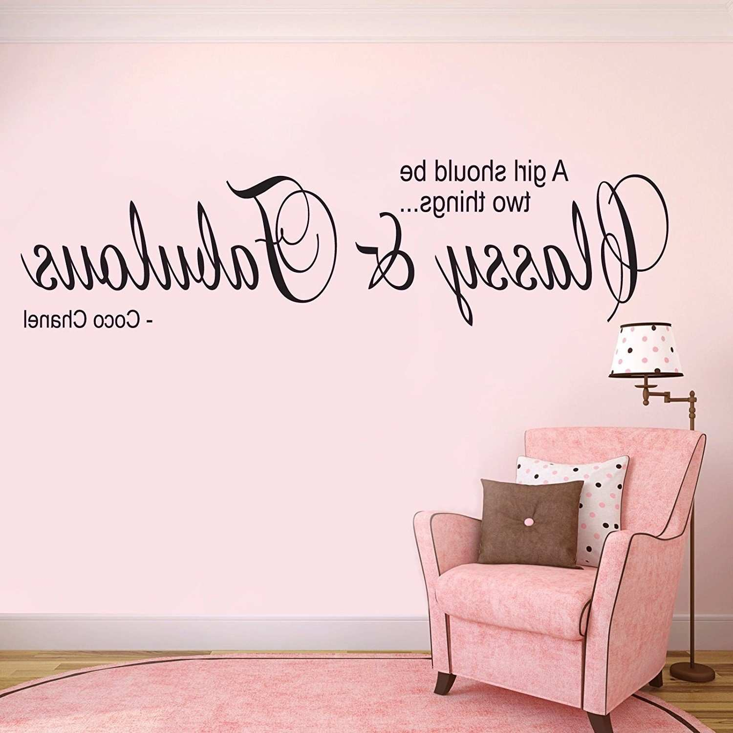 15 Best Coco Chanel Wall Stickers Inspiration Bathroom Wall