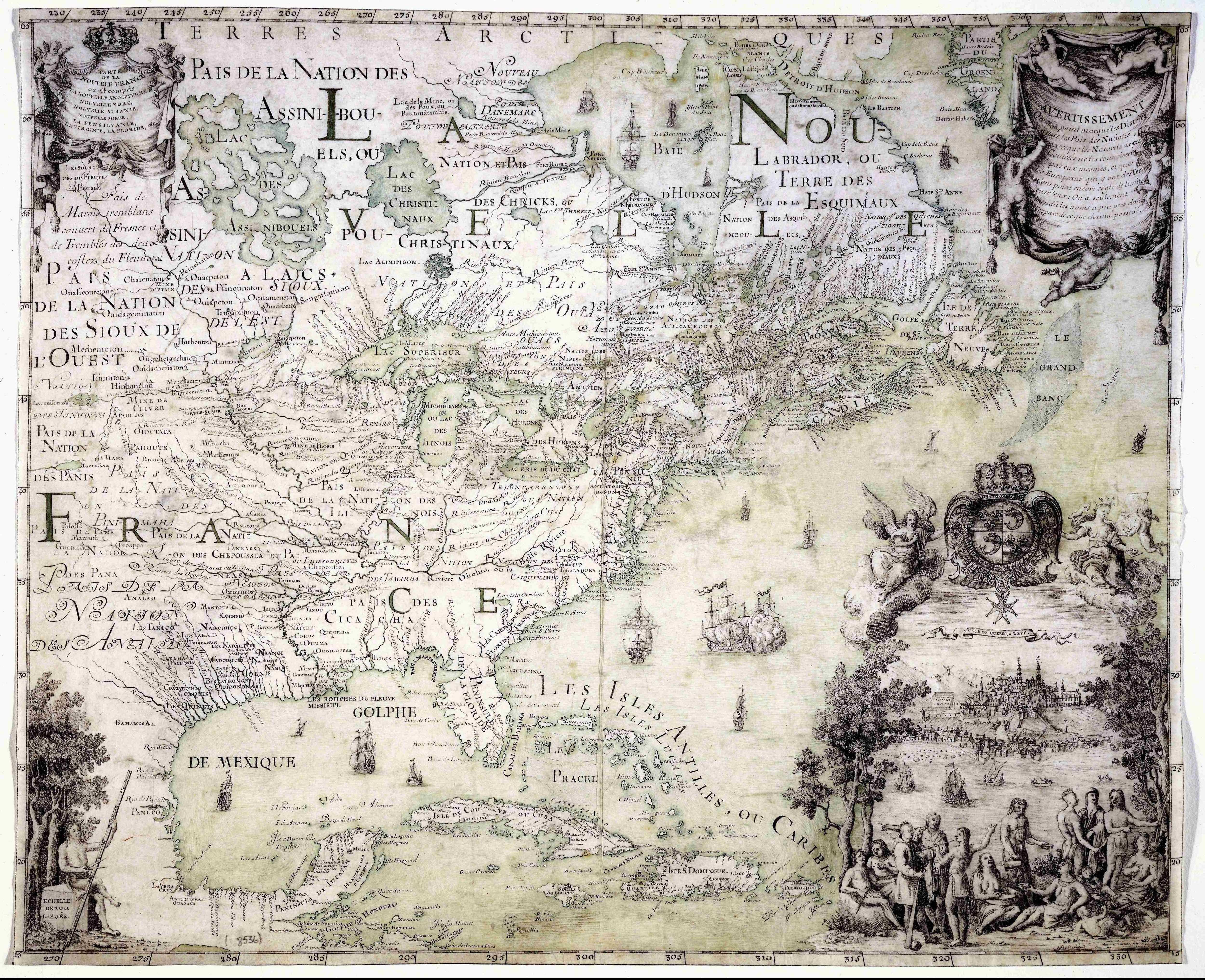 Wall Decor Old Map Painting on Canvas Print Vintage Map Artwork Home