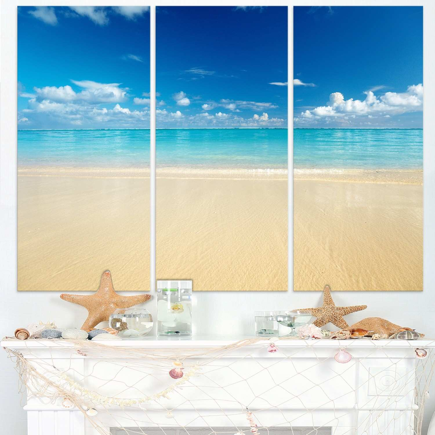 Outstanding Beach Wall Art Embellishment Wall Art Collections